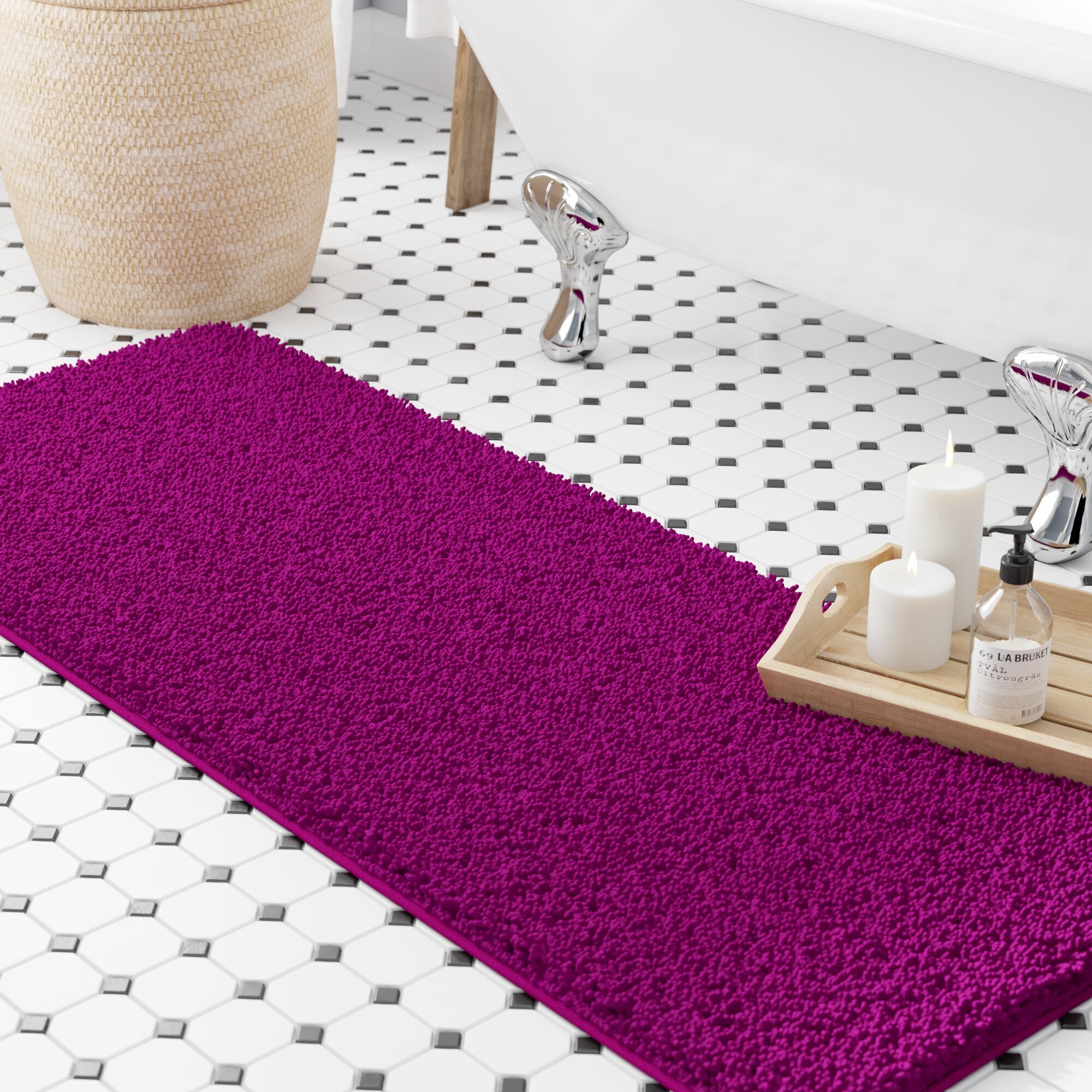 How To Choose Bath Rugs & Mats