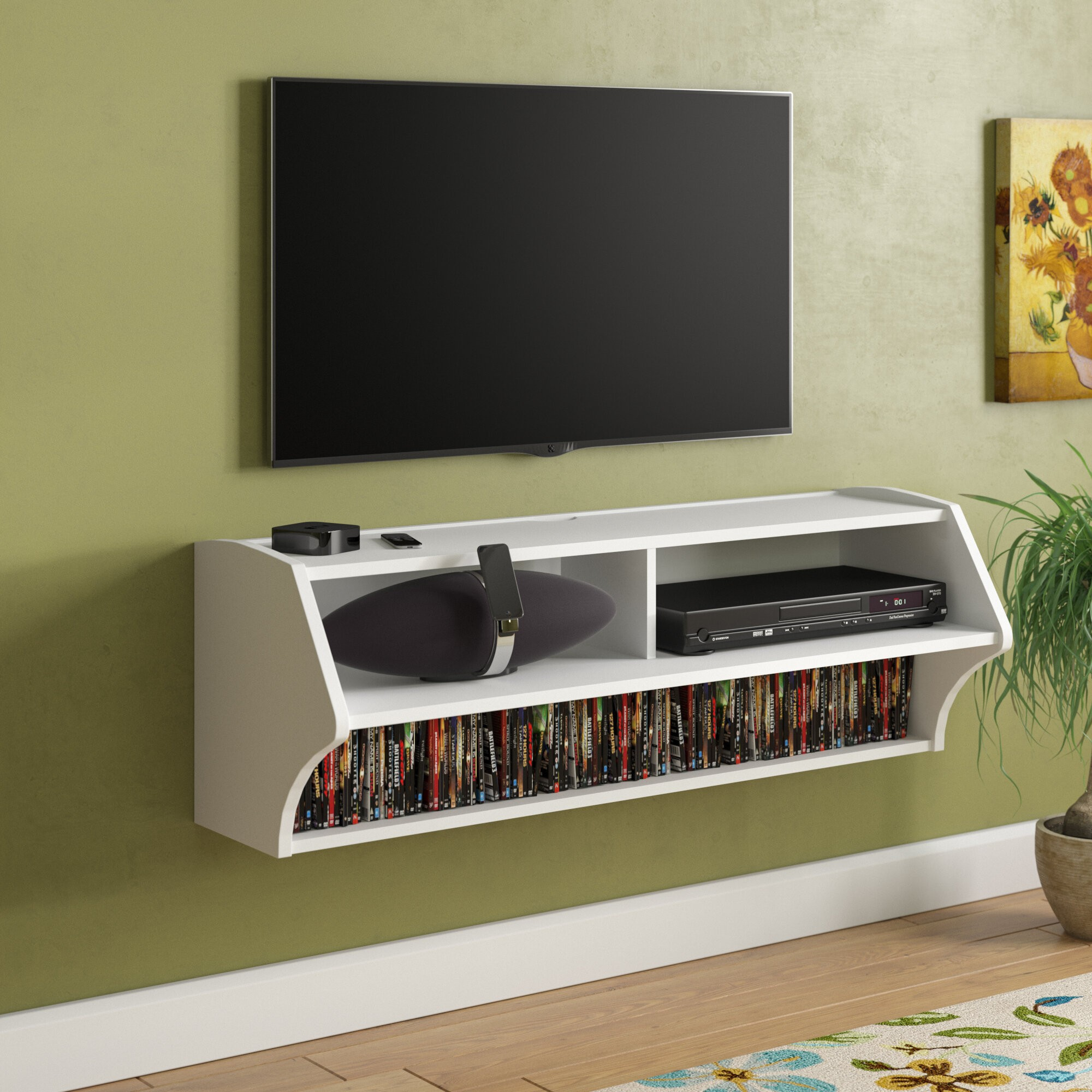 Carder Wall Mounted Audio Rack