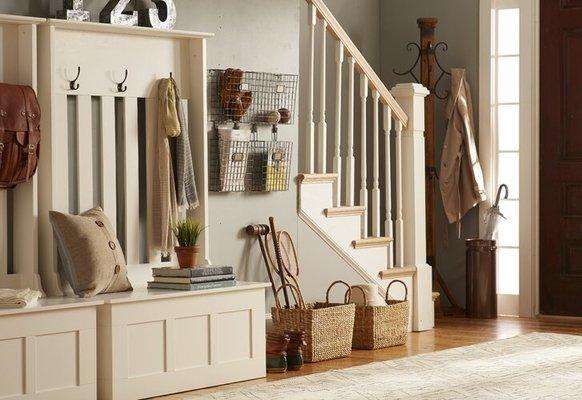 Farmhouse Foyer Design
