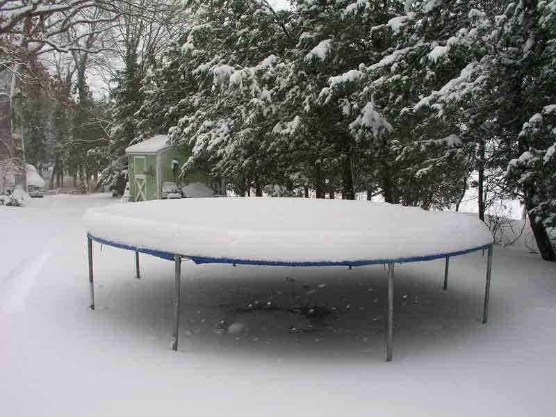 5 Useful Tips On How To Care For Your Trampoline This Winter