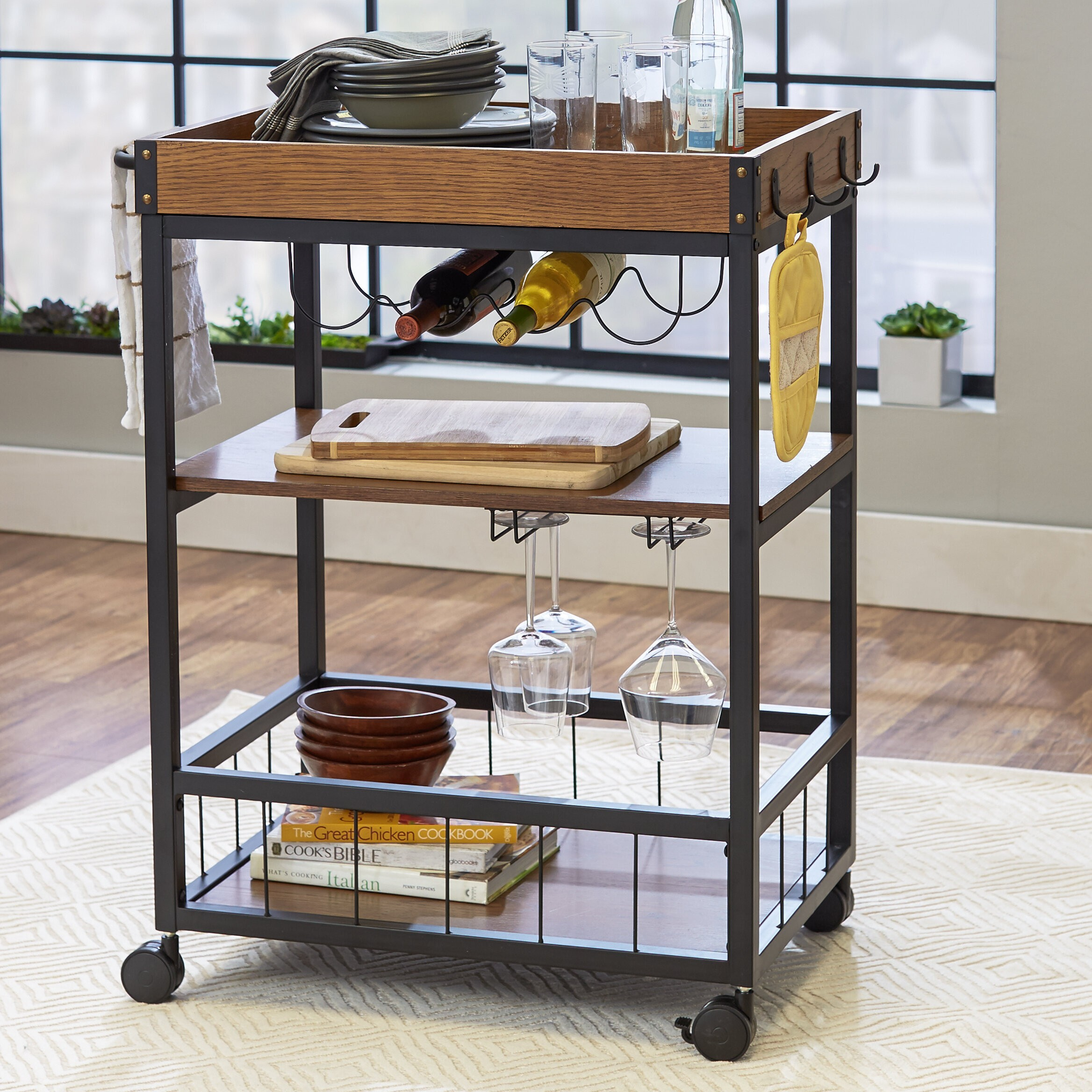How To Choose A Bar Cart