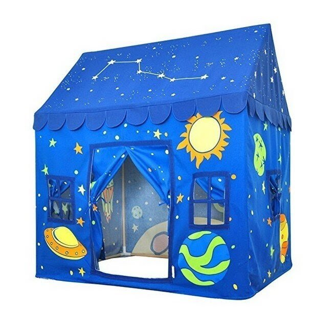 Sky and Planet 4.1' x 3.15' Playhouse