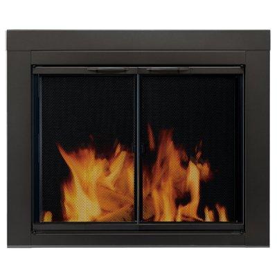 Stylish Elegant Steel Fireplace Doors