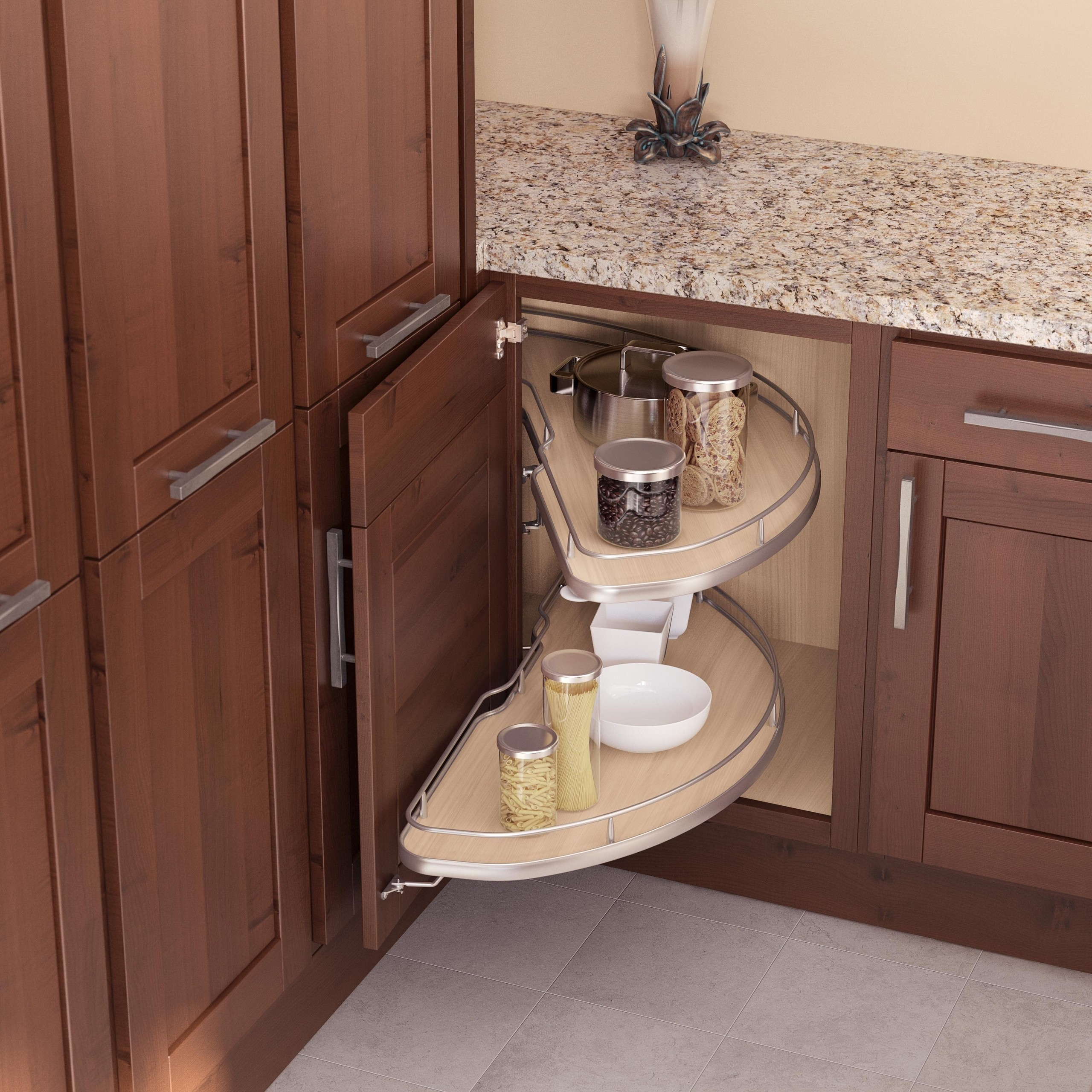 8 Great Ways To Organize Your Blind Corner Cabinet Foter