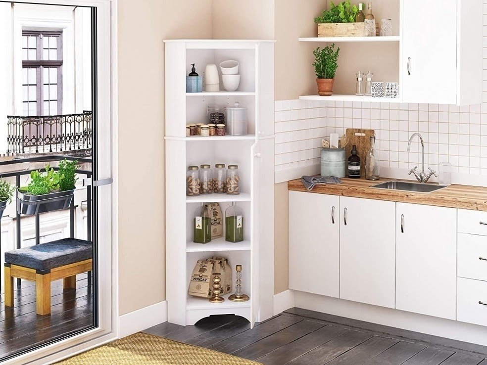 10 Reasons to Spice Up Your Kitchen with a Corner Cabinet ...