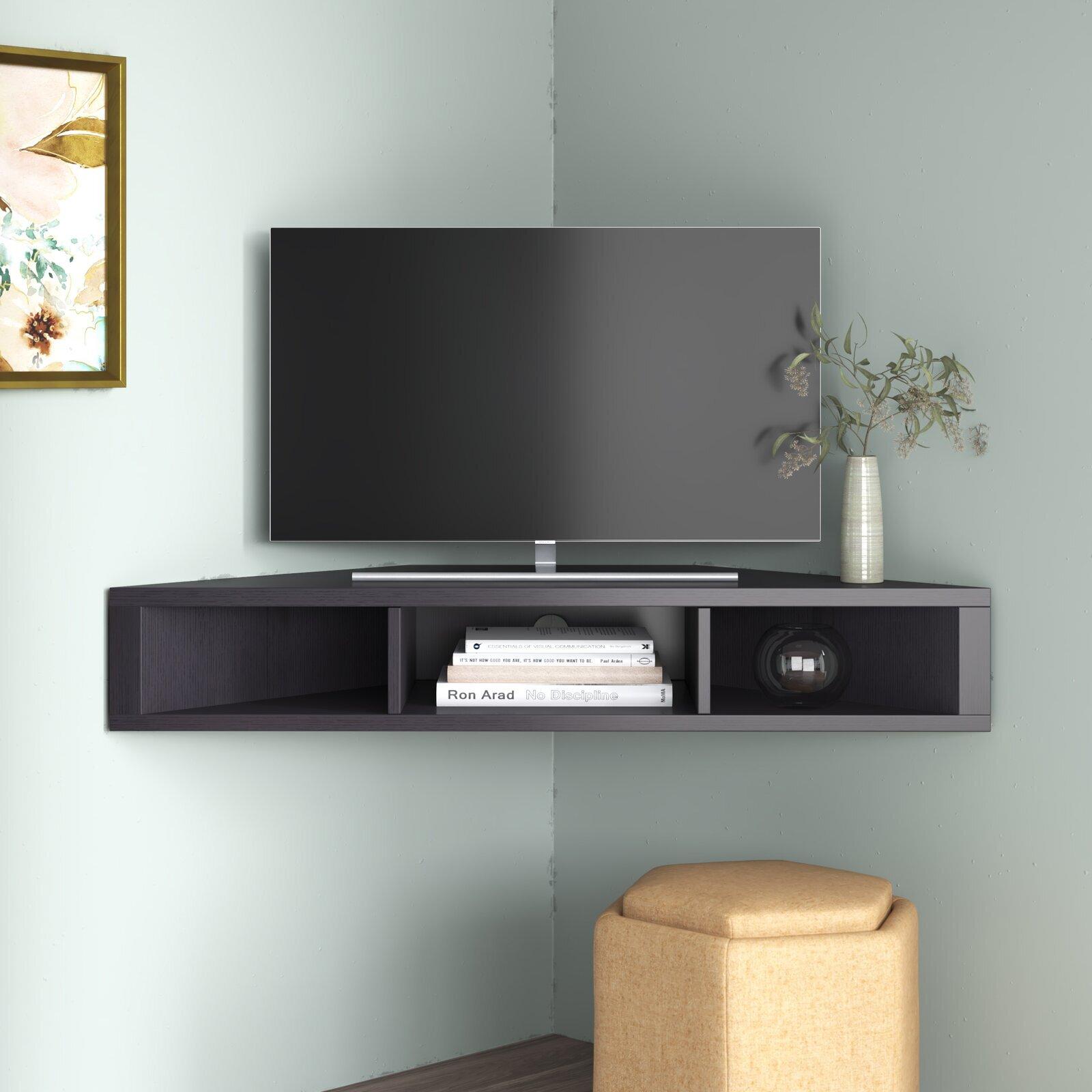 Corner TV Unit / Stand Design   Ideas on Foter