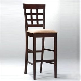 Coaster Bar Stools Solid Wood Cuccino With Wheat Back 30 H Set