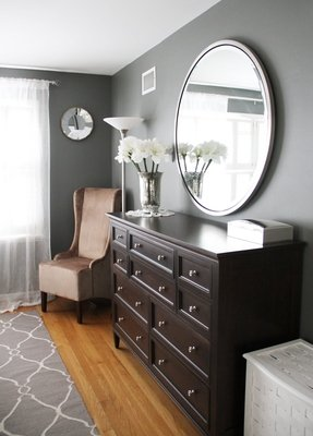 Charcoal grey bedroom furniture