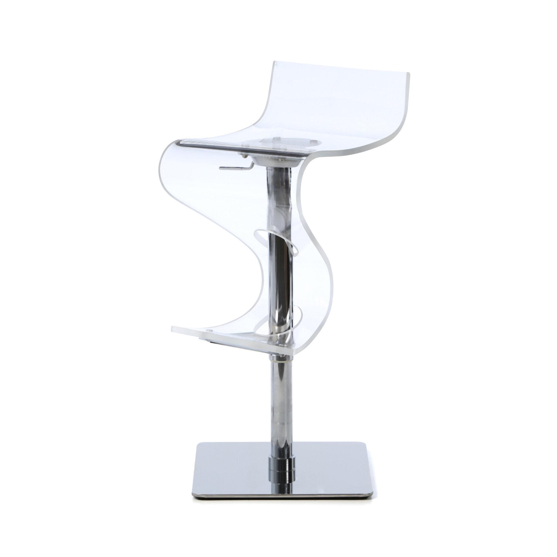 Acrylic Transparent Bar Stools   Ideas on Foter