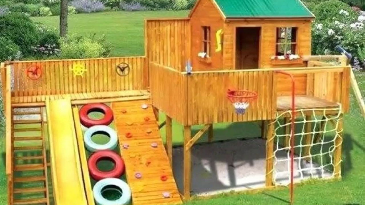 Image of: Backyard Playground Equipment For 2020 Ideas On Foter