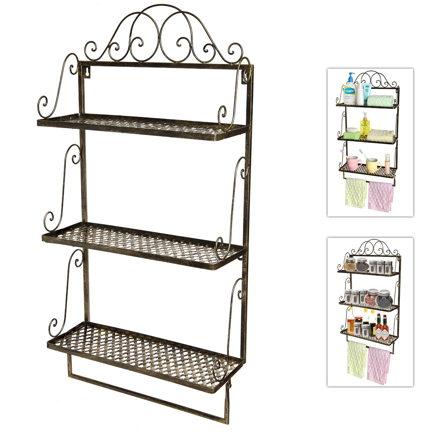 Bathroom Wall Shelves And Storage Ideas On Foter