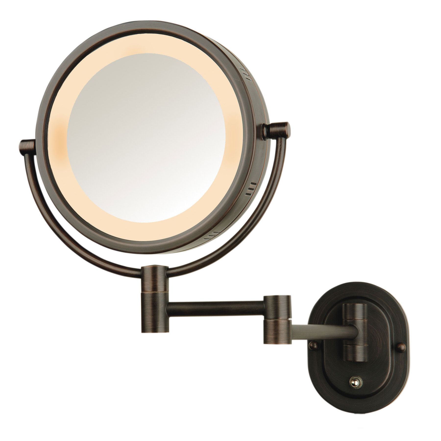 Battery Operated Wall Mounted Lighted Makeup Mirror Ideas On Foter