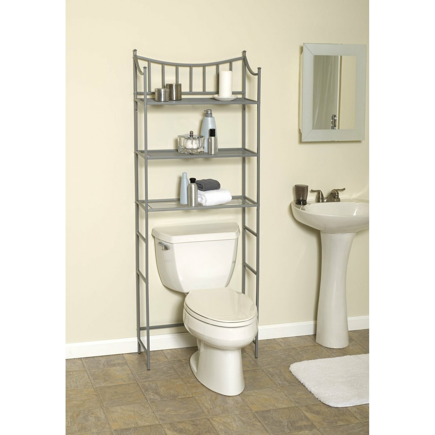 Behind Toilet Shelves Ideas On Foter