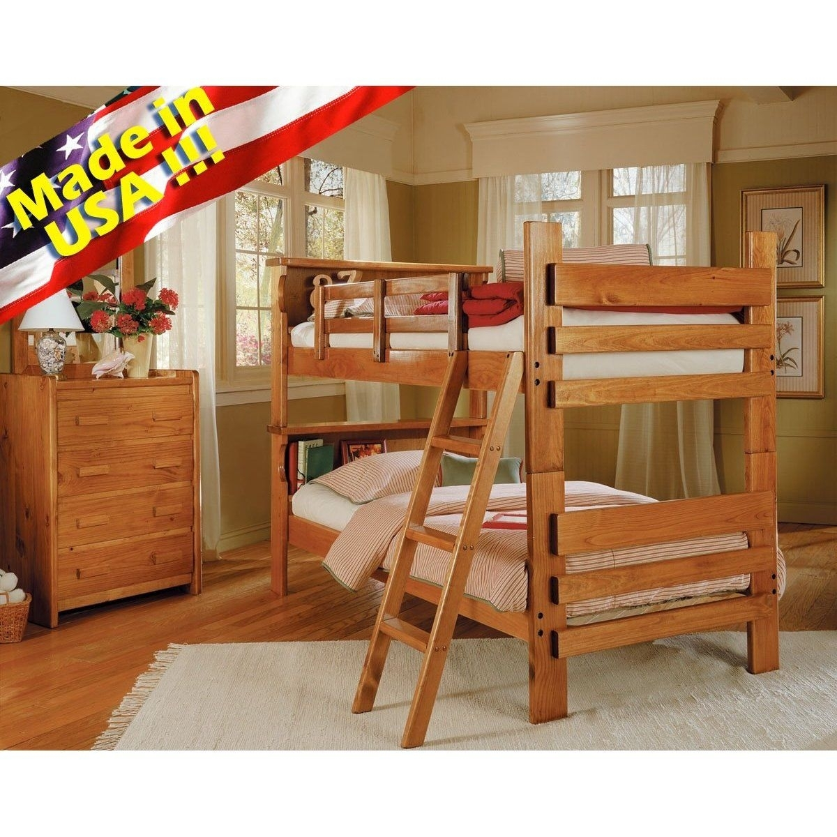 Picture of: Bunk Beds Made In Usa Ideas On Foter