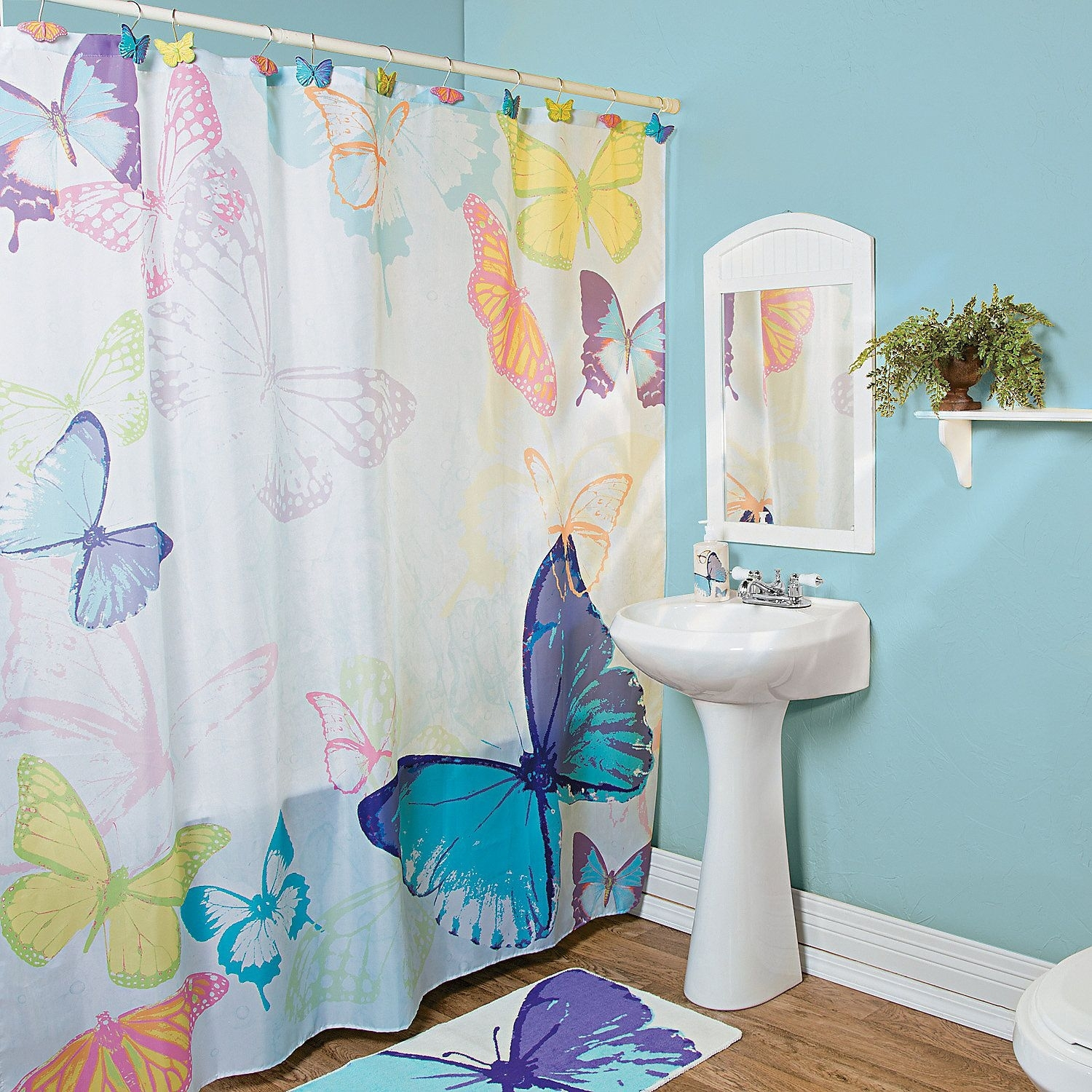 Butterfly Shower Curtain Hooks For 2020 Ideas On Foter