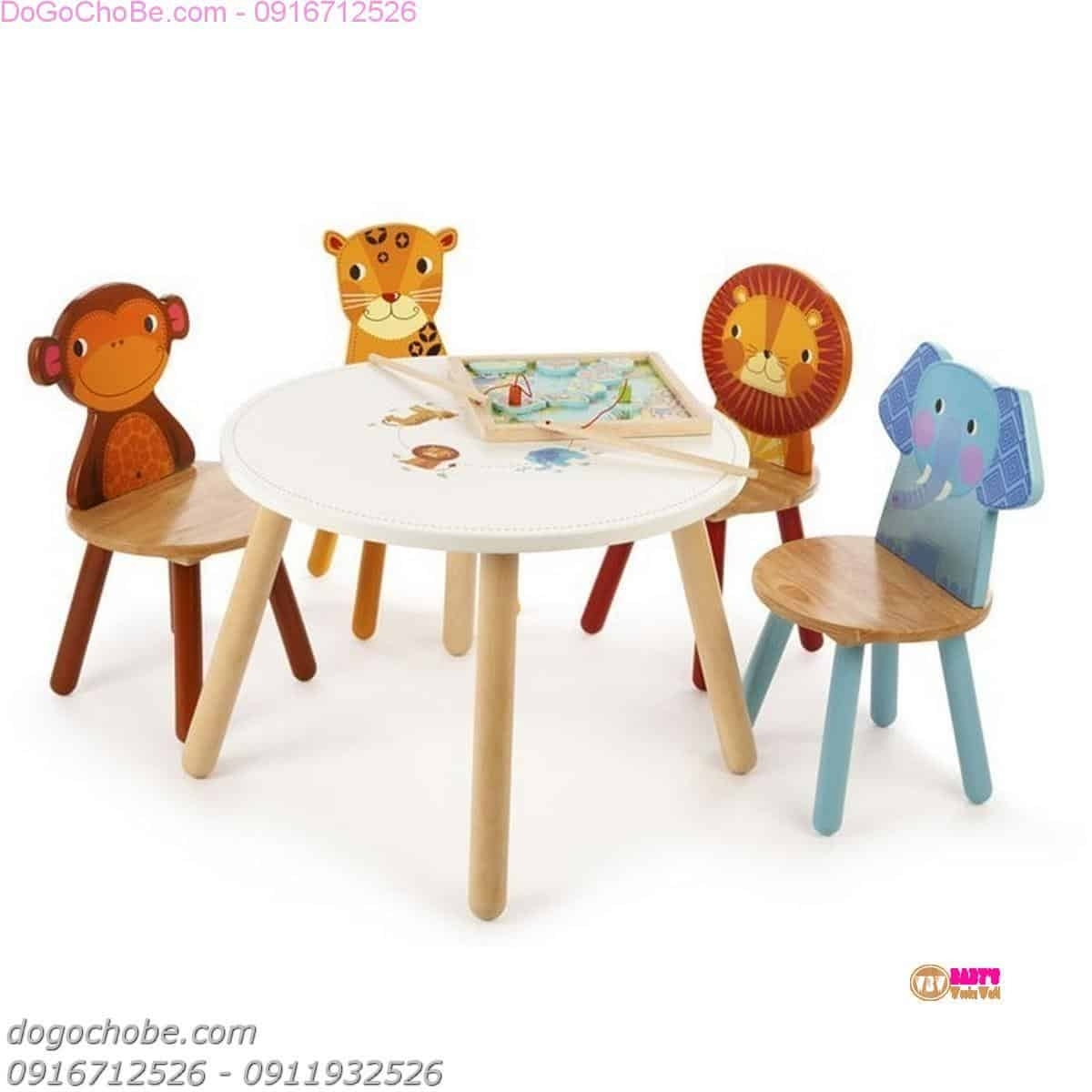 Picture of: Childrens Table And Chair Sets Wooden Ideas On Foter