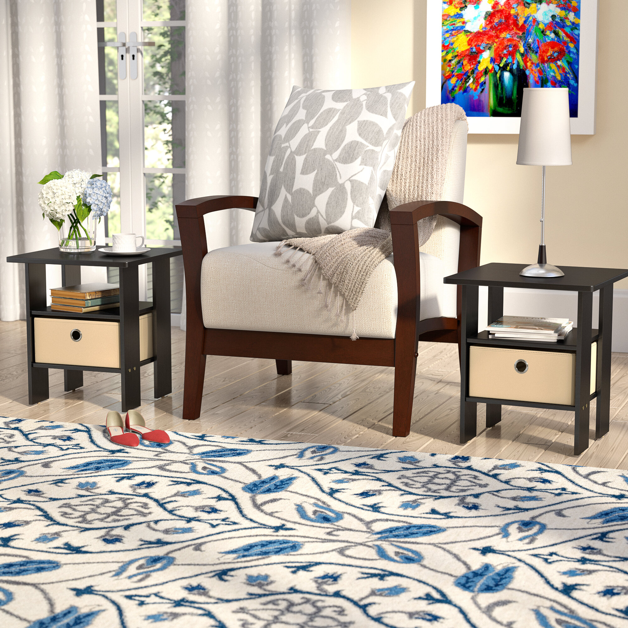Picture of: Coffee And End Table Sets With Storage Ideas On Foter