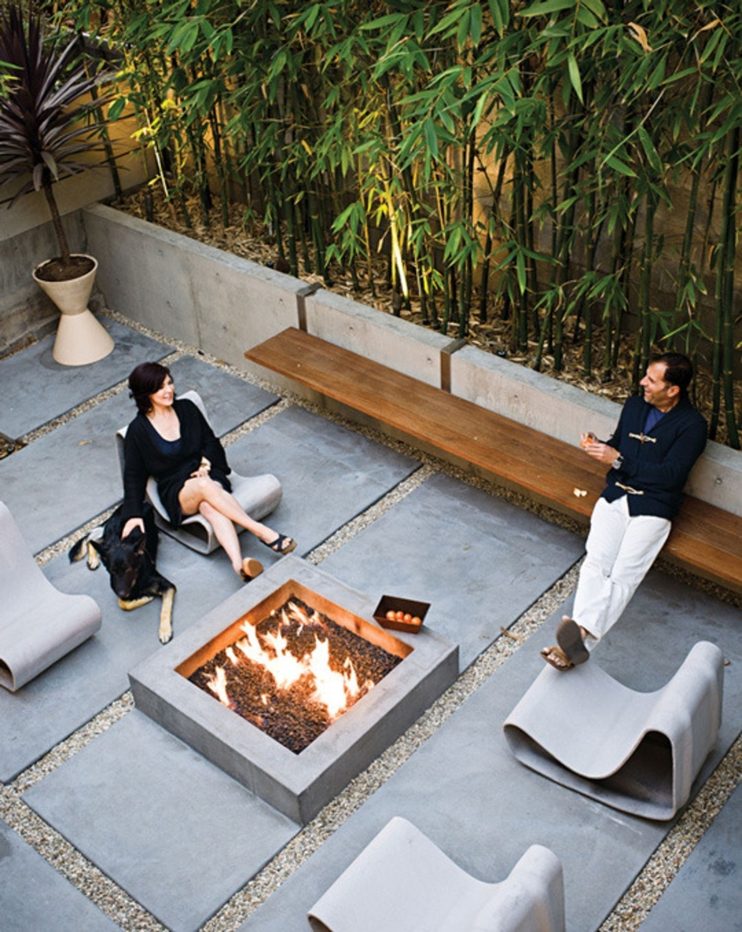 Concrete Patio Benches Ideas On Foter