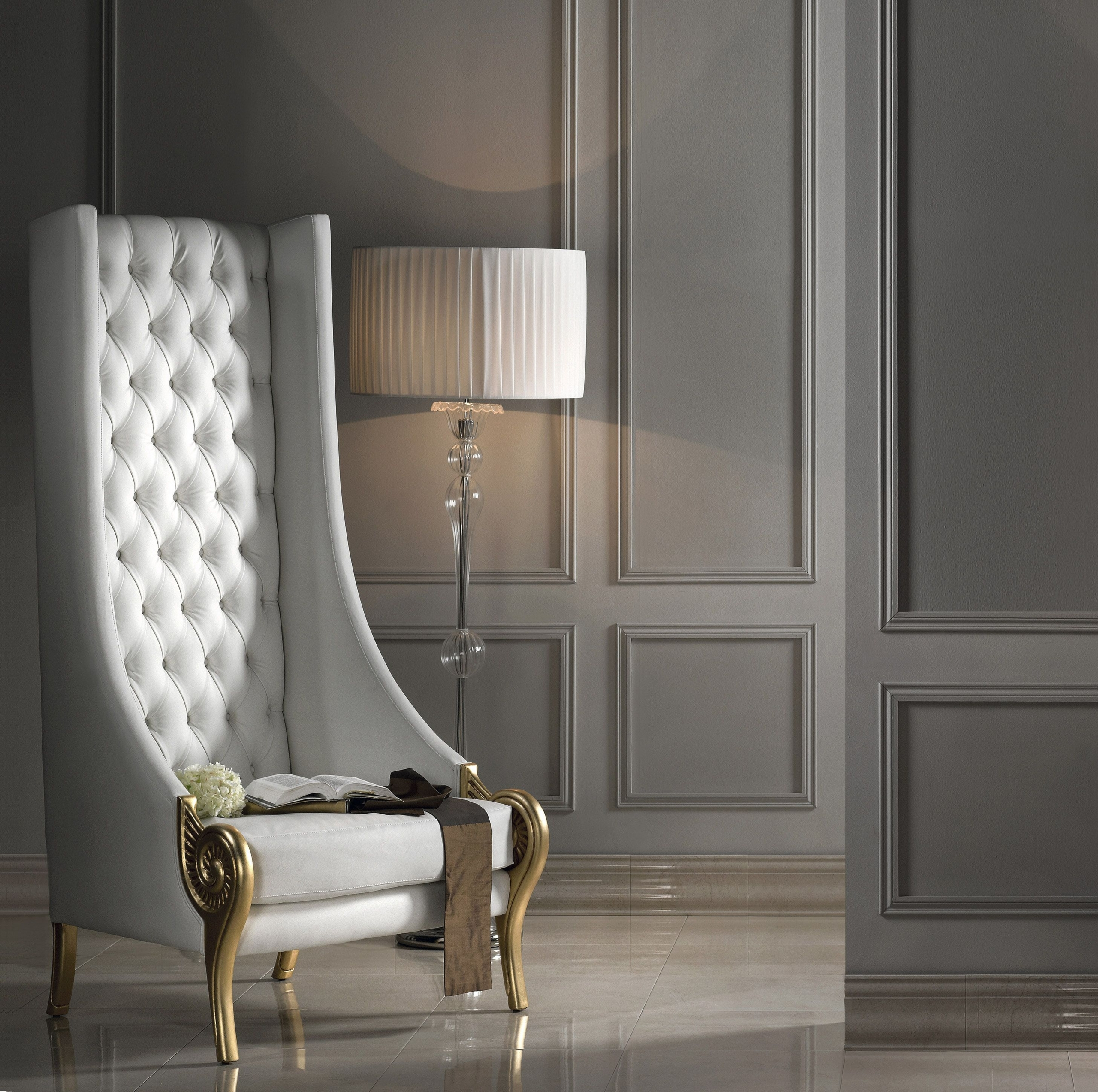Image of: Contemporary White Leather Chairs Ideas On Foter