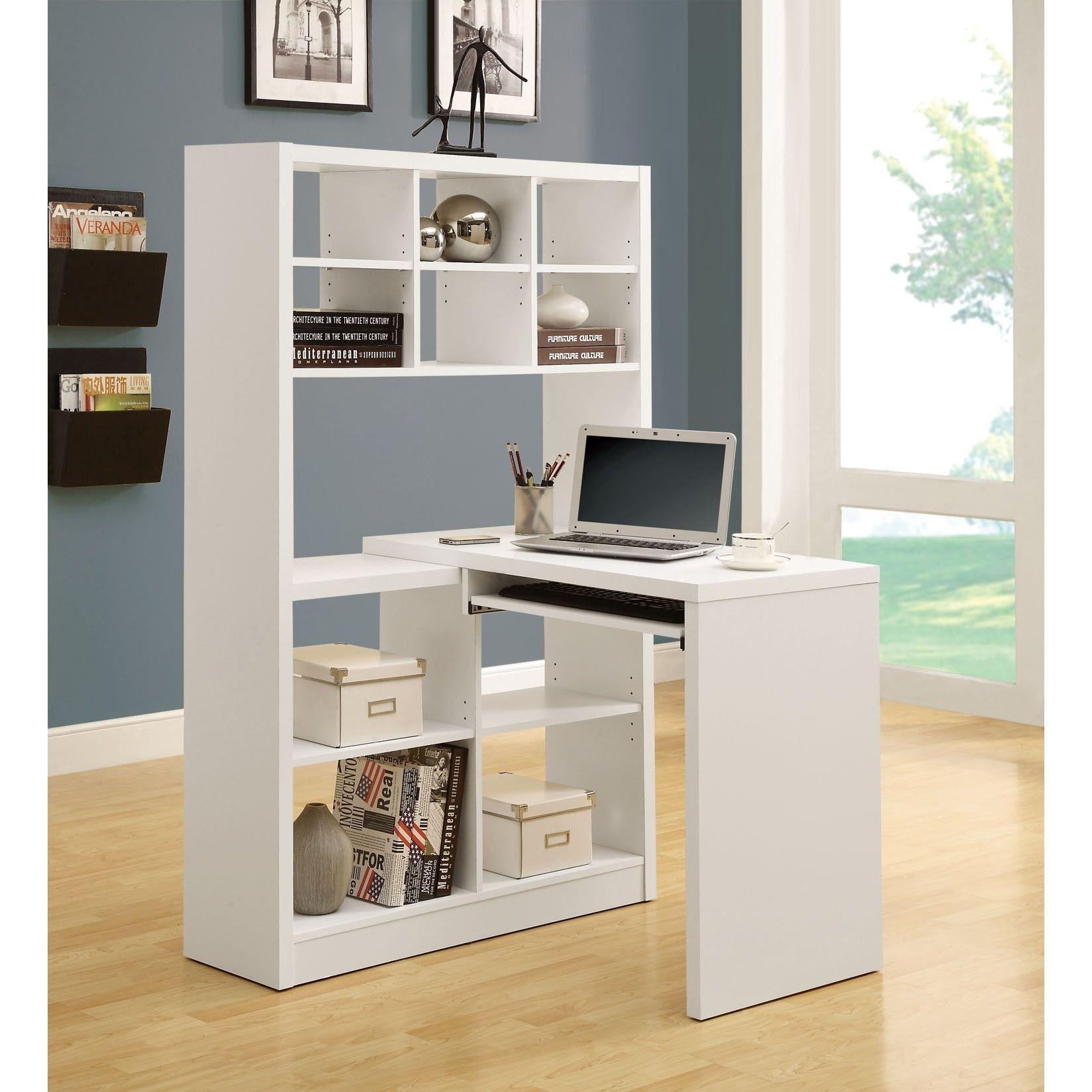 Corner Computer Desk With Shelves Ideas On Foter