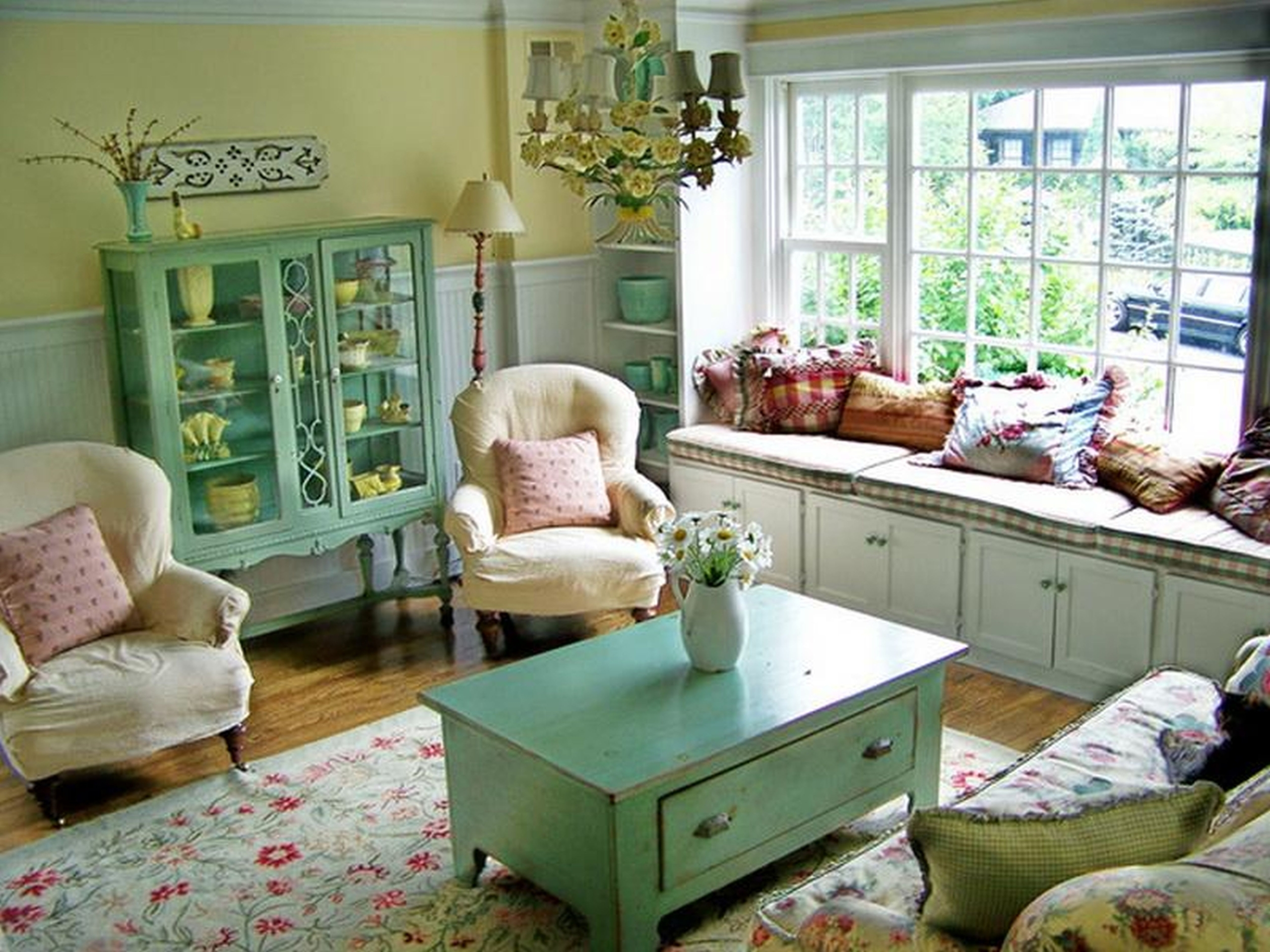 Cottage Living Room Furniture Ideas On Foter
