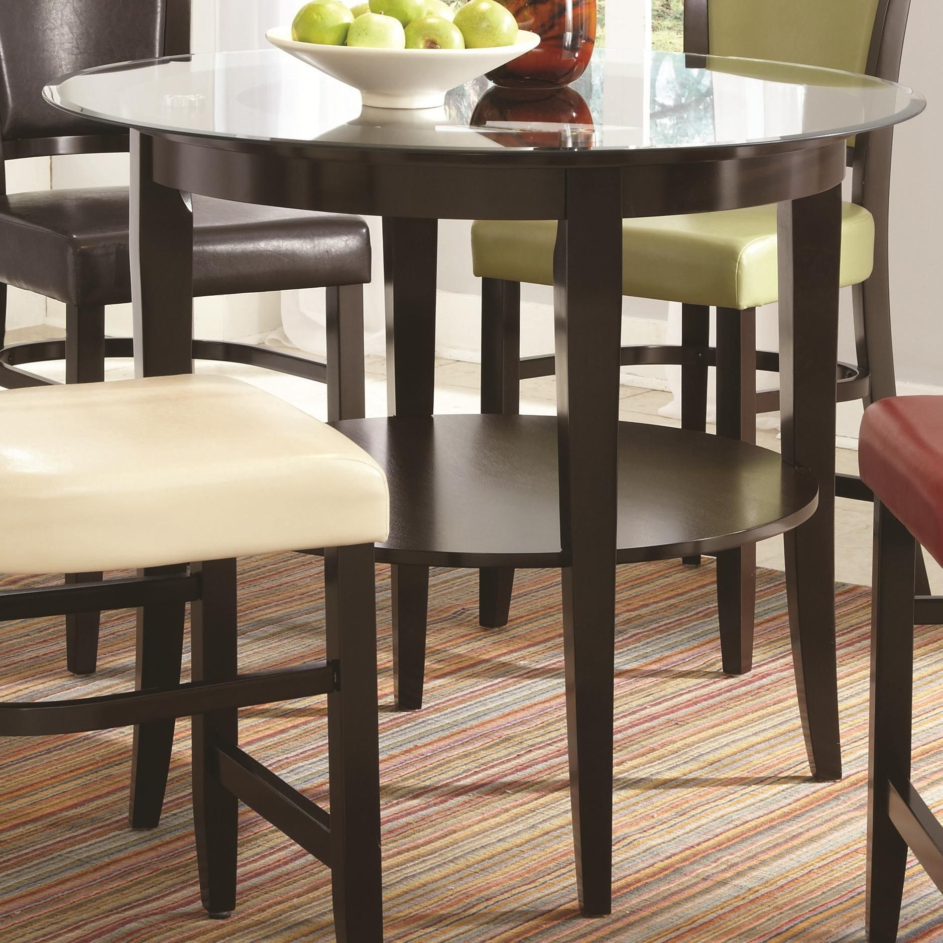 Picture of: Counter Height Round Dining Table Ideas On Foter