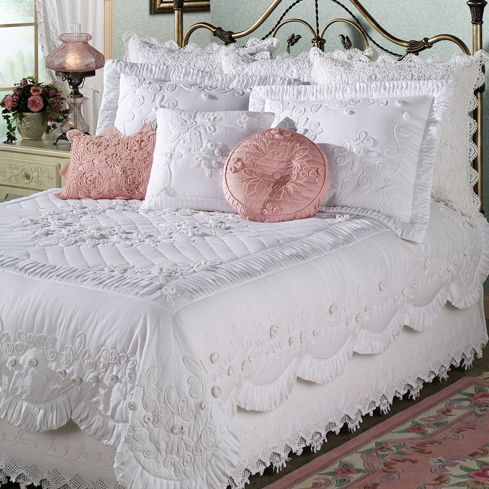 Crocheted Bed Skirts Ideas On Foter