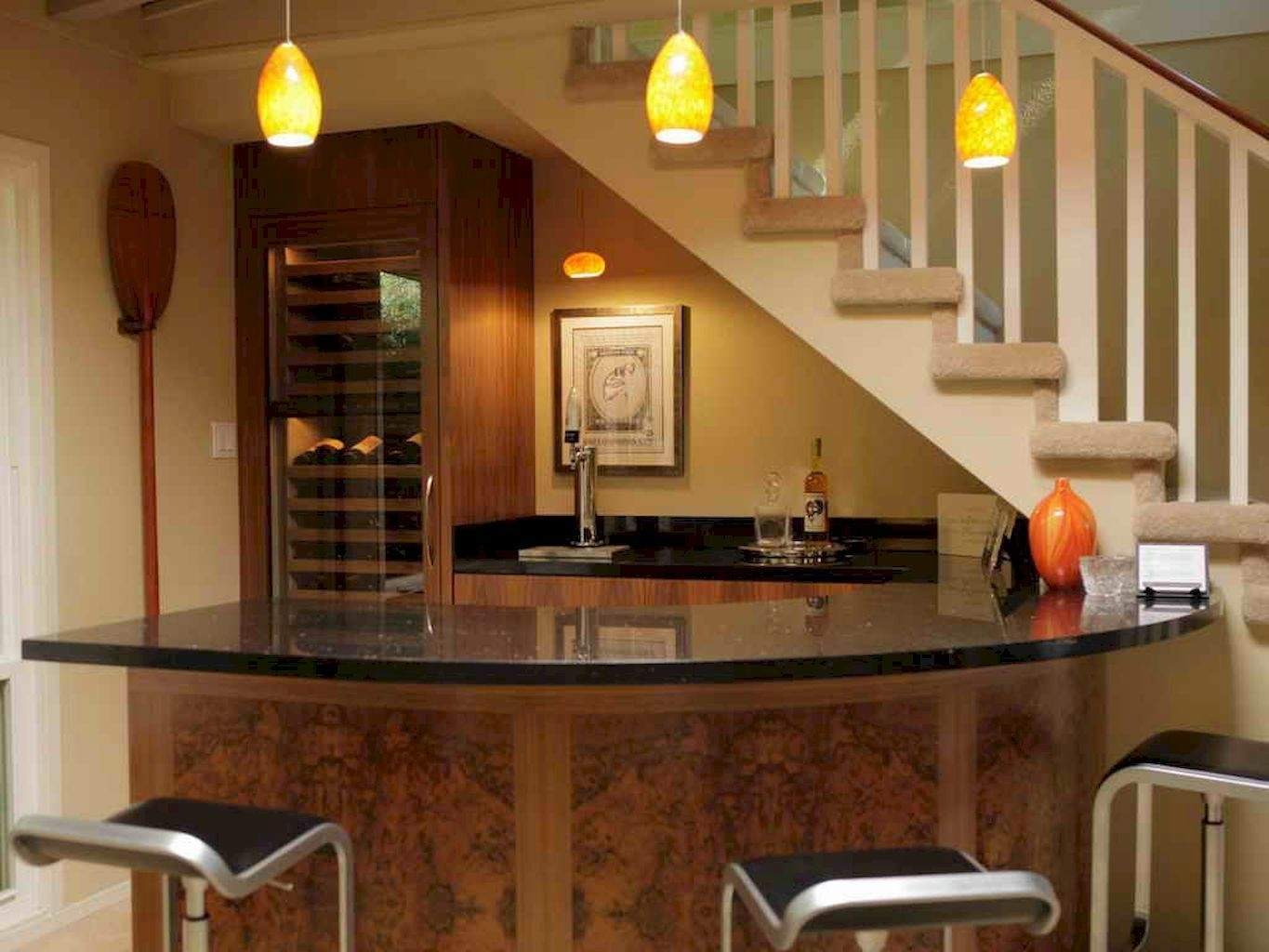 Picture of: Curved Home Bar Ideas On Foter