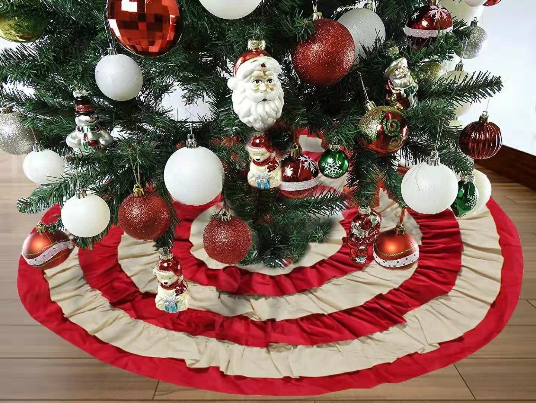 Designer Christmas Tree Skirts Ideas On Foter