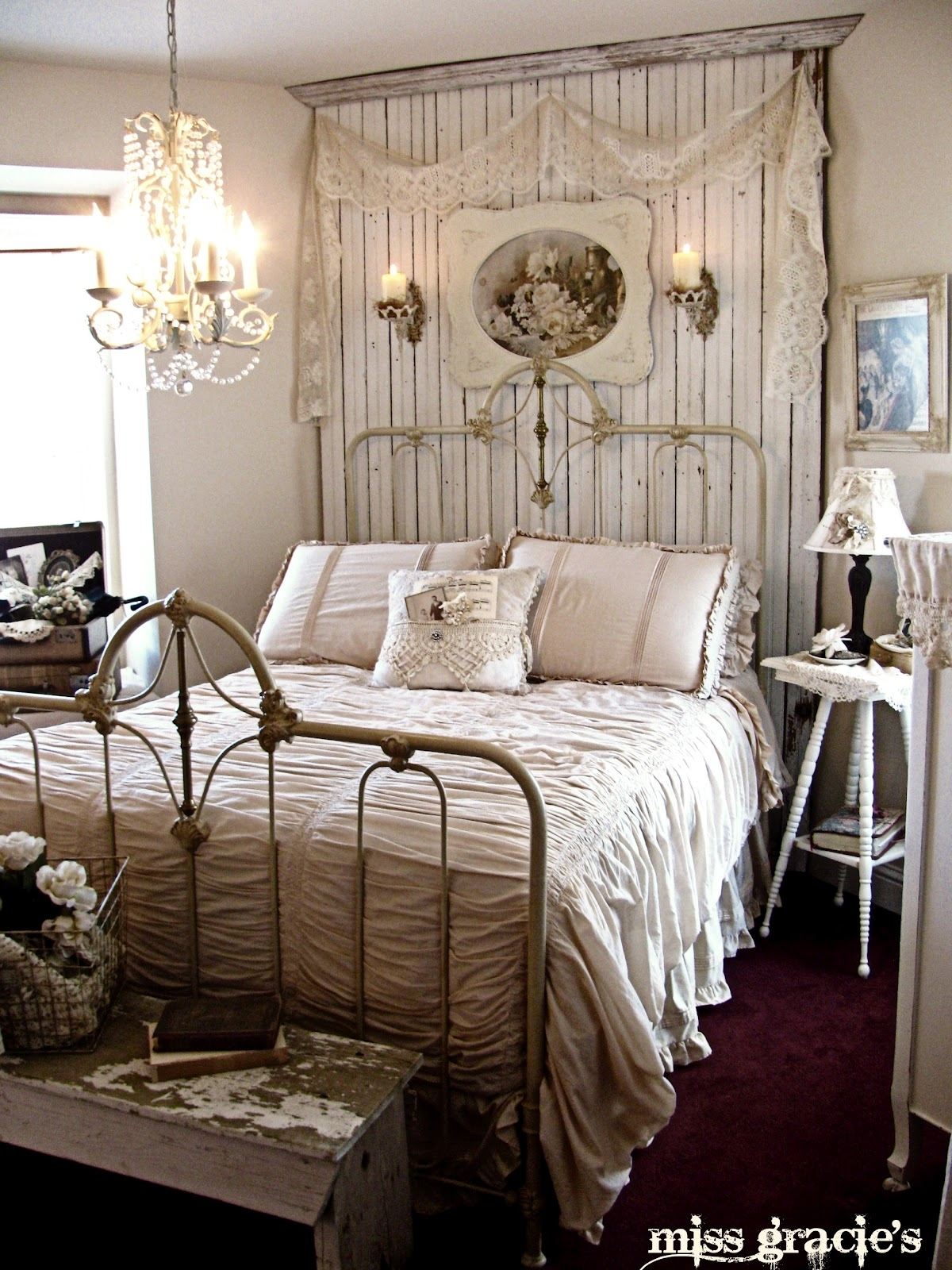 Distressed White Bed Ideas On Foter