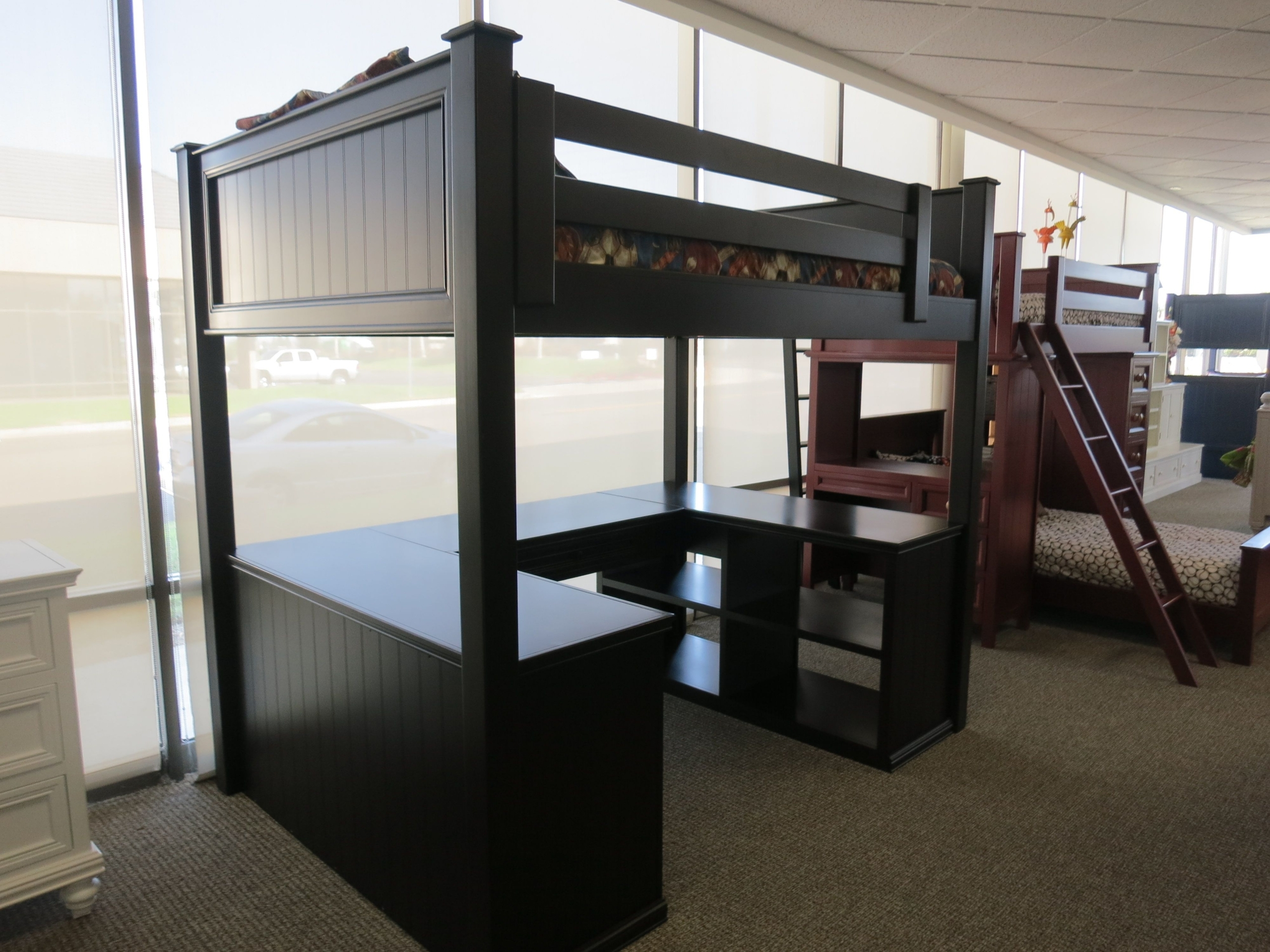Picture of: Full Size Bunk Bed With Desk For 2020 Ideas On Foter