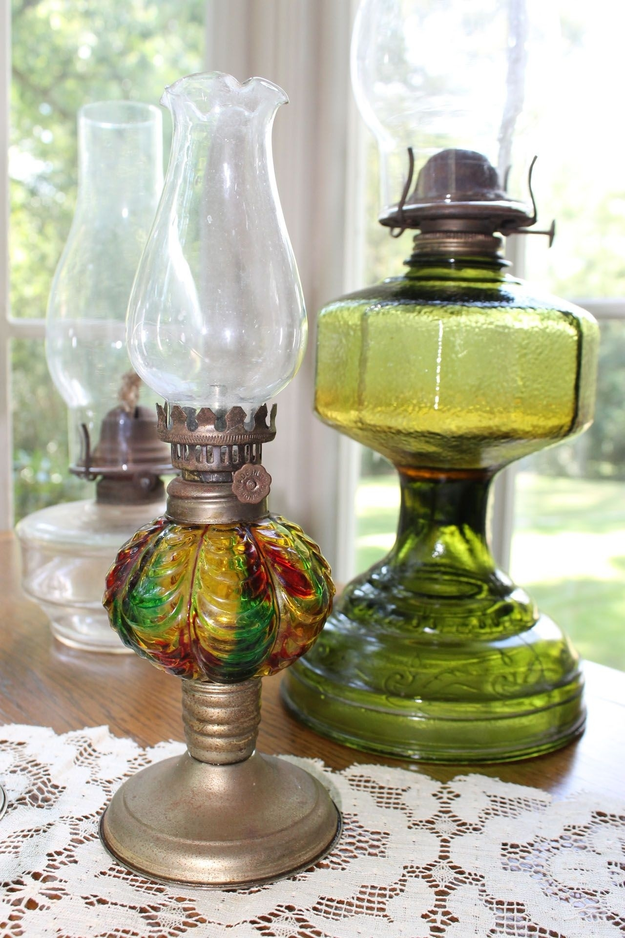 Glass Kerosene Oil Lamp Ideas On Foter