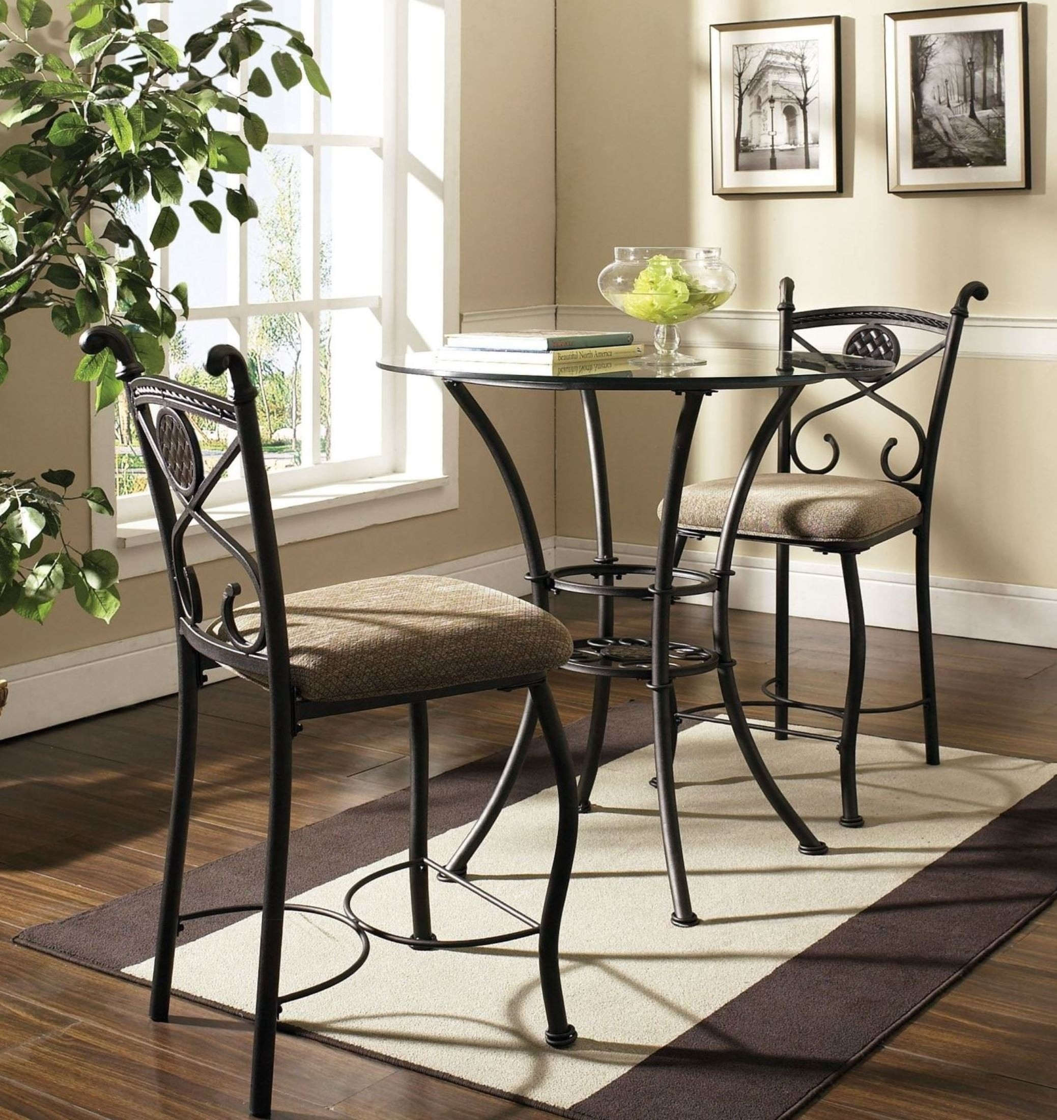 Picture of: Glass Top Bistro Table Set Ideas On Foter