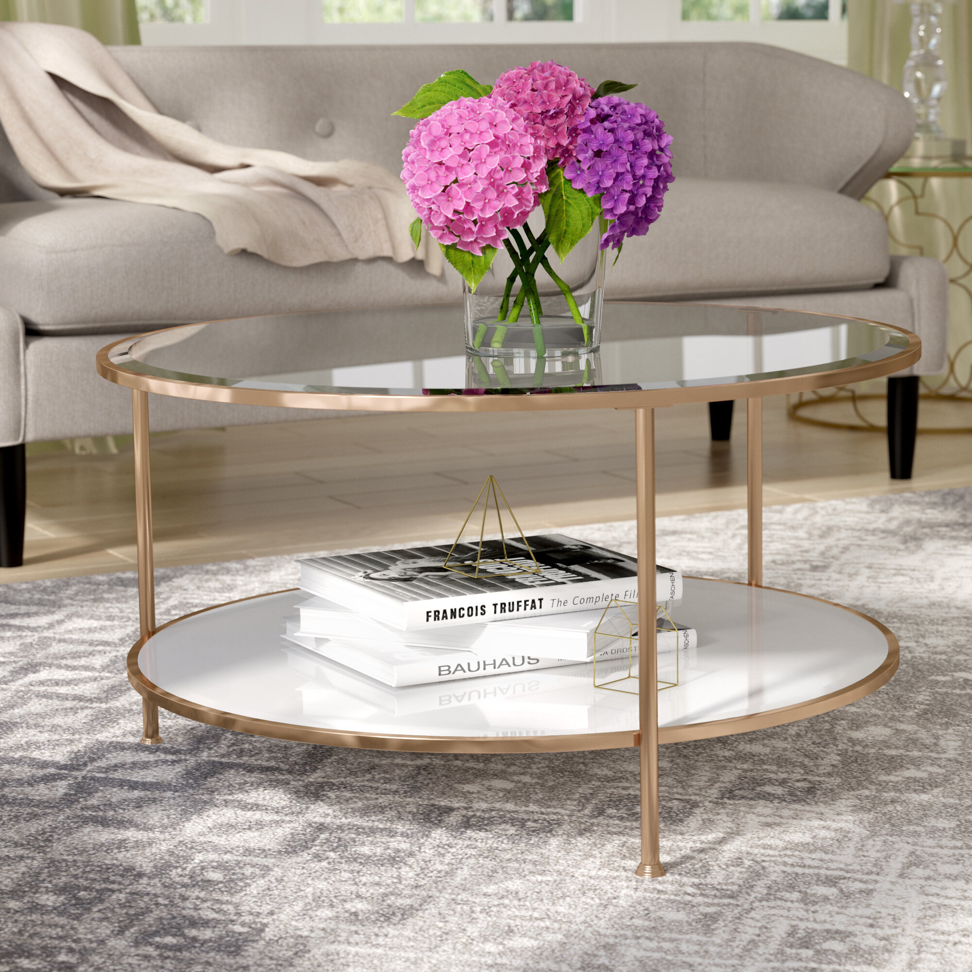 Gold Round Coffee Tables Ideas On Foter
