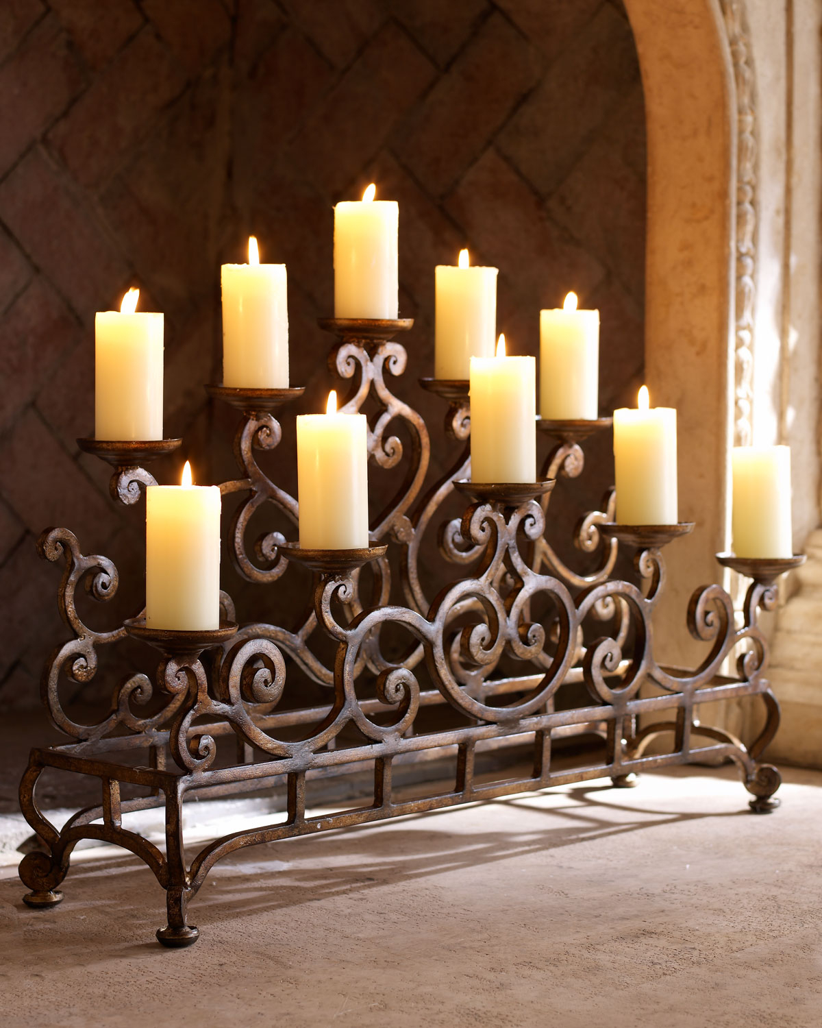 Iron Candelabra Centerpieces Ideas On Foter