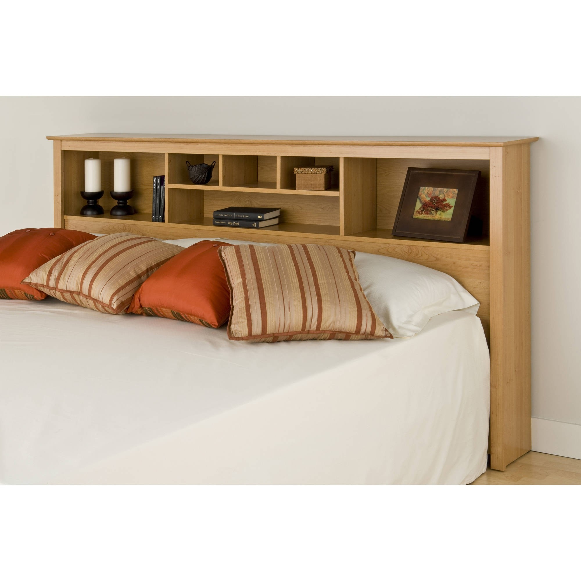 King Size Headboard With Shelves Ideas On Foter
