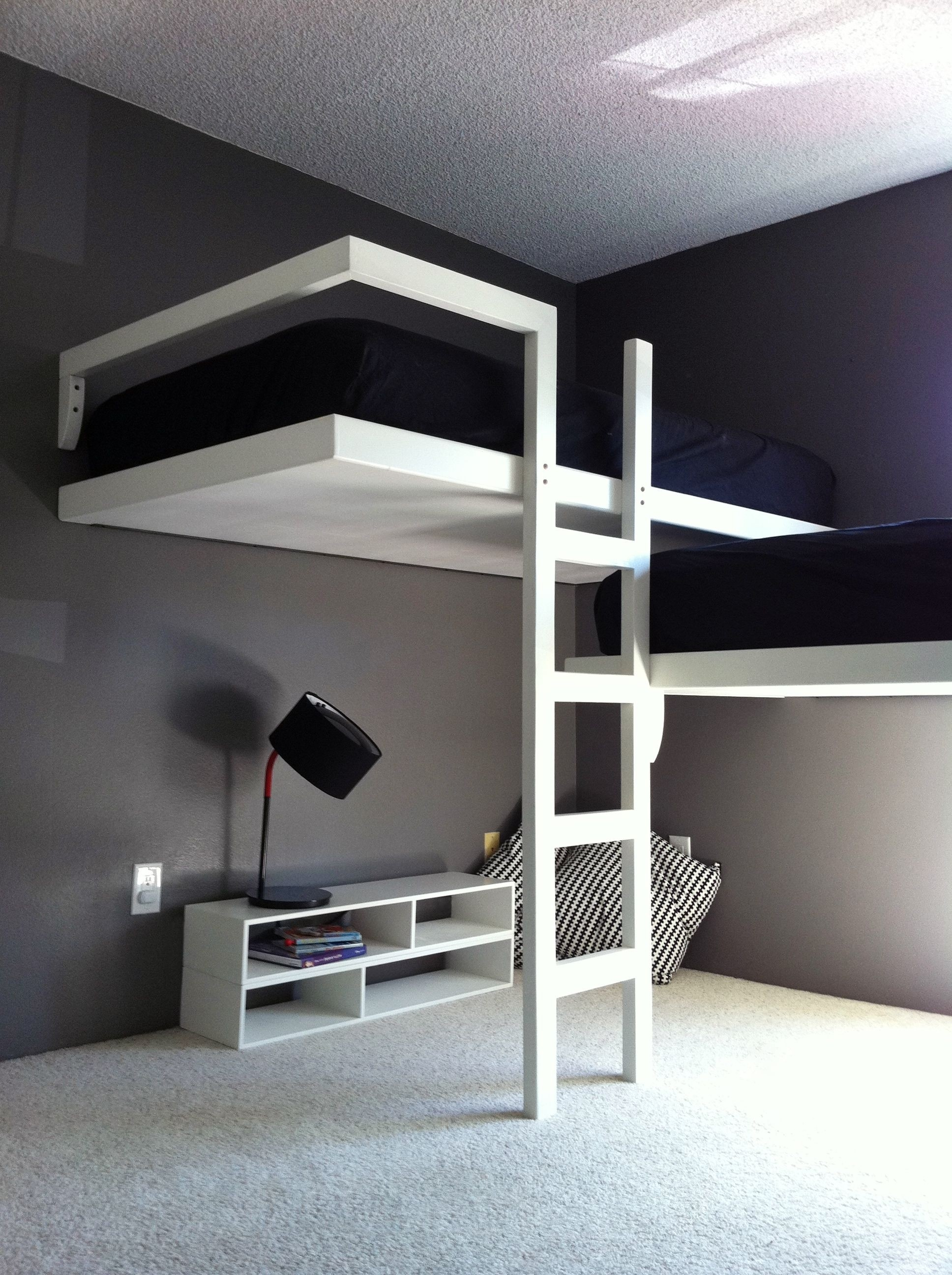 Picture of: L Shape Loft Bed Ideas On Foter