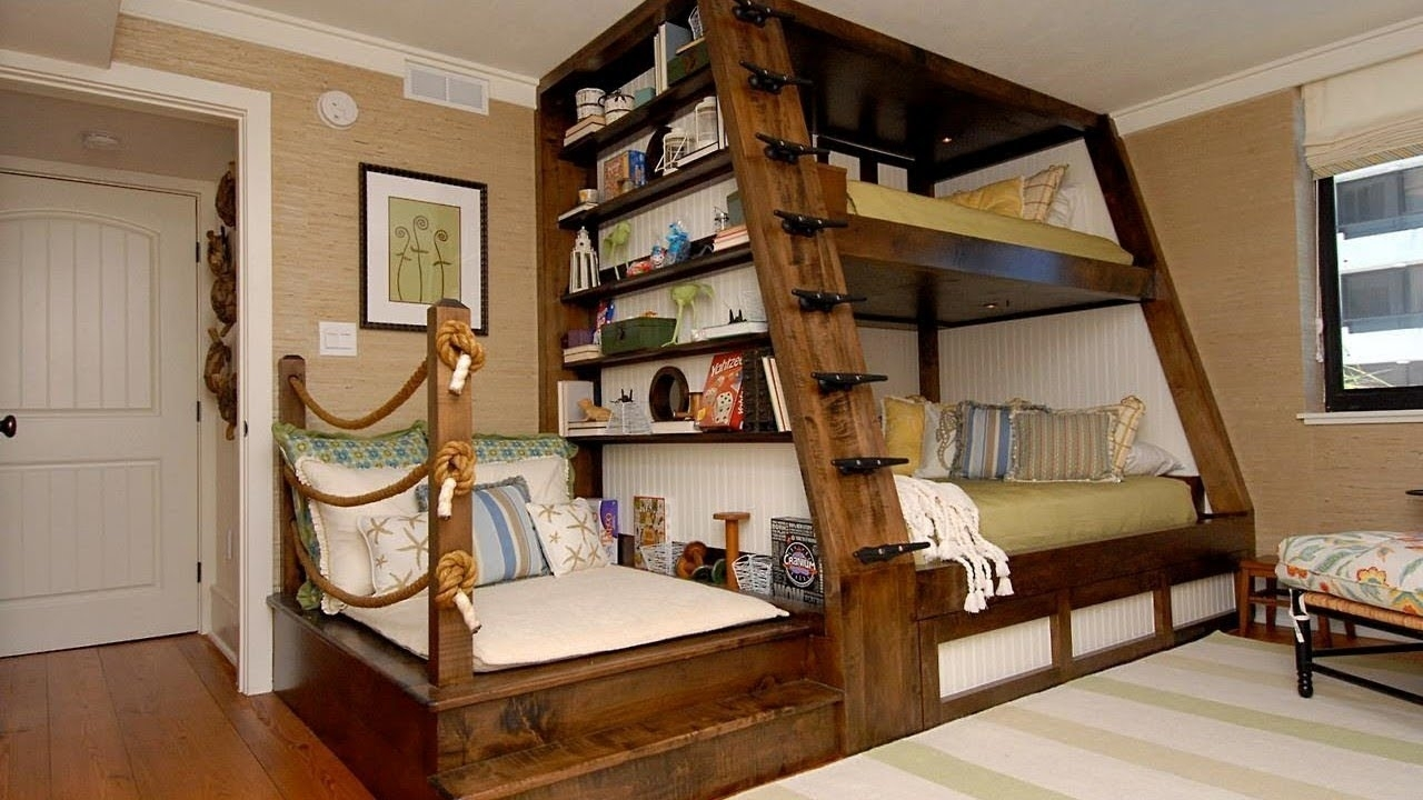 Picture of: L Shaped Loft Bunk Beds Ideas On Foter