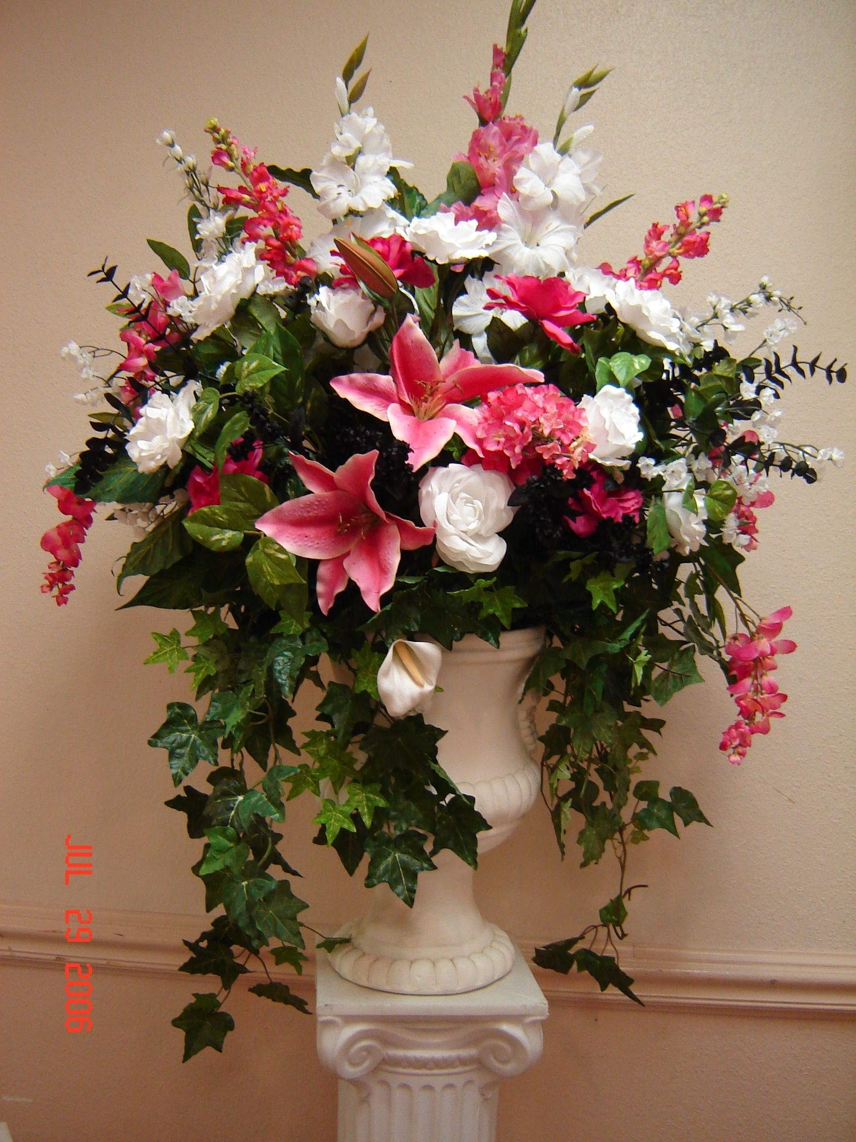 Large Silk Floral Arrangements Ideas On Foter