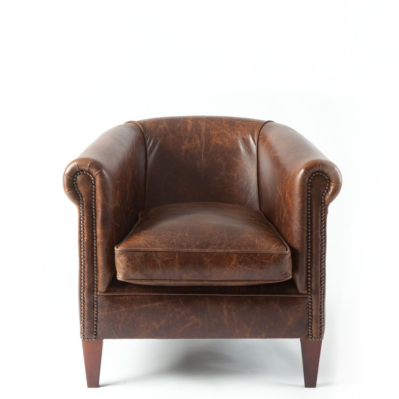 Picture of: Leather Tub Chairs Ideas On Foter