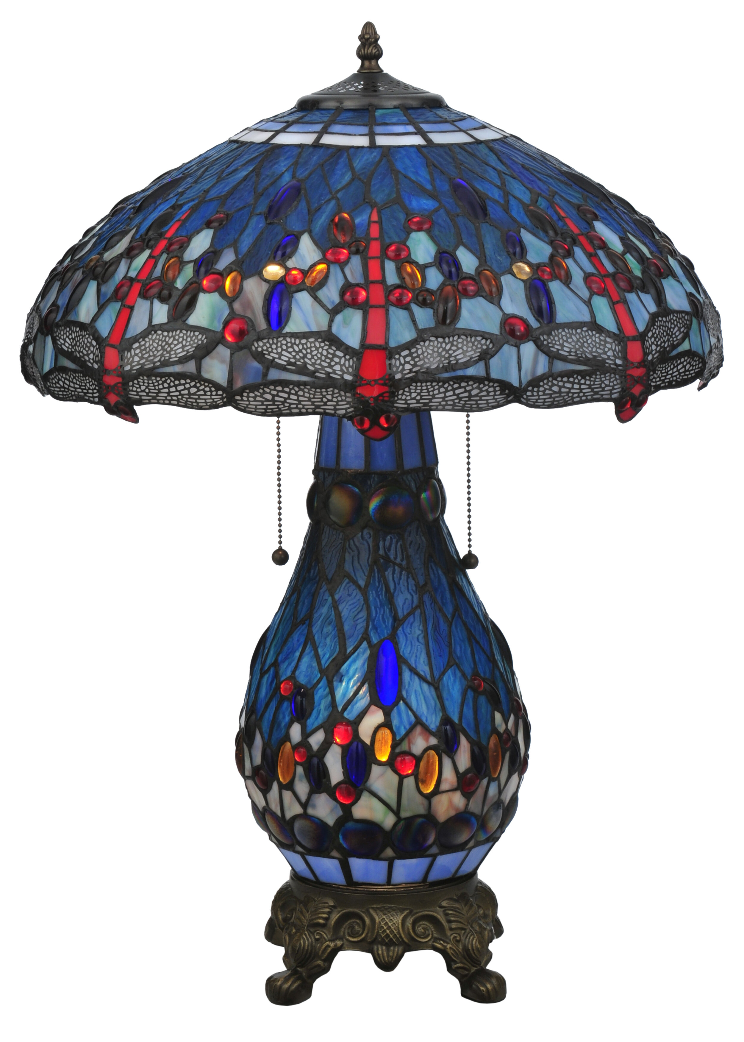Picture of: Lighted Base Tiffany Lamp Ideas On Foter