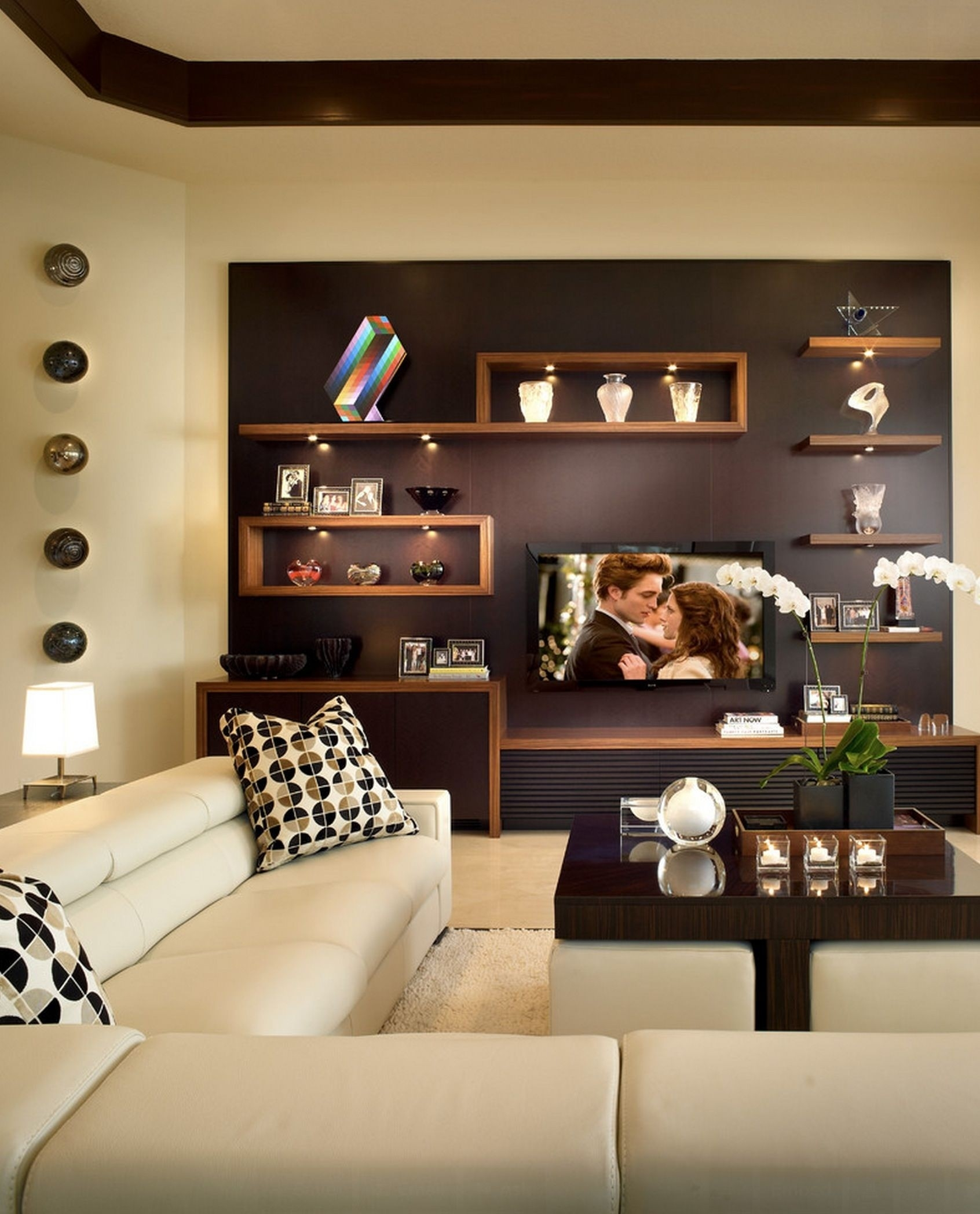 Living Room Wall Shelves Ideas On Foter