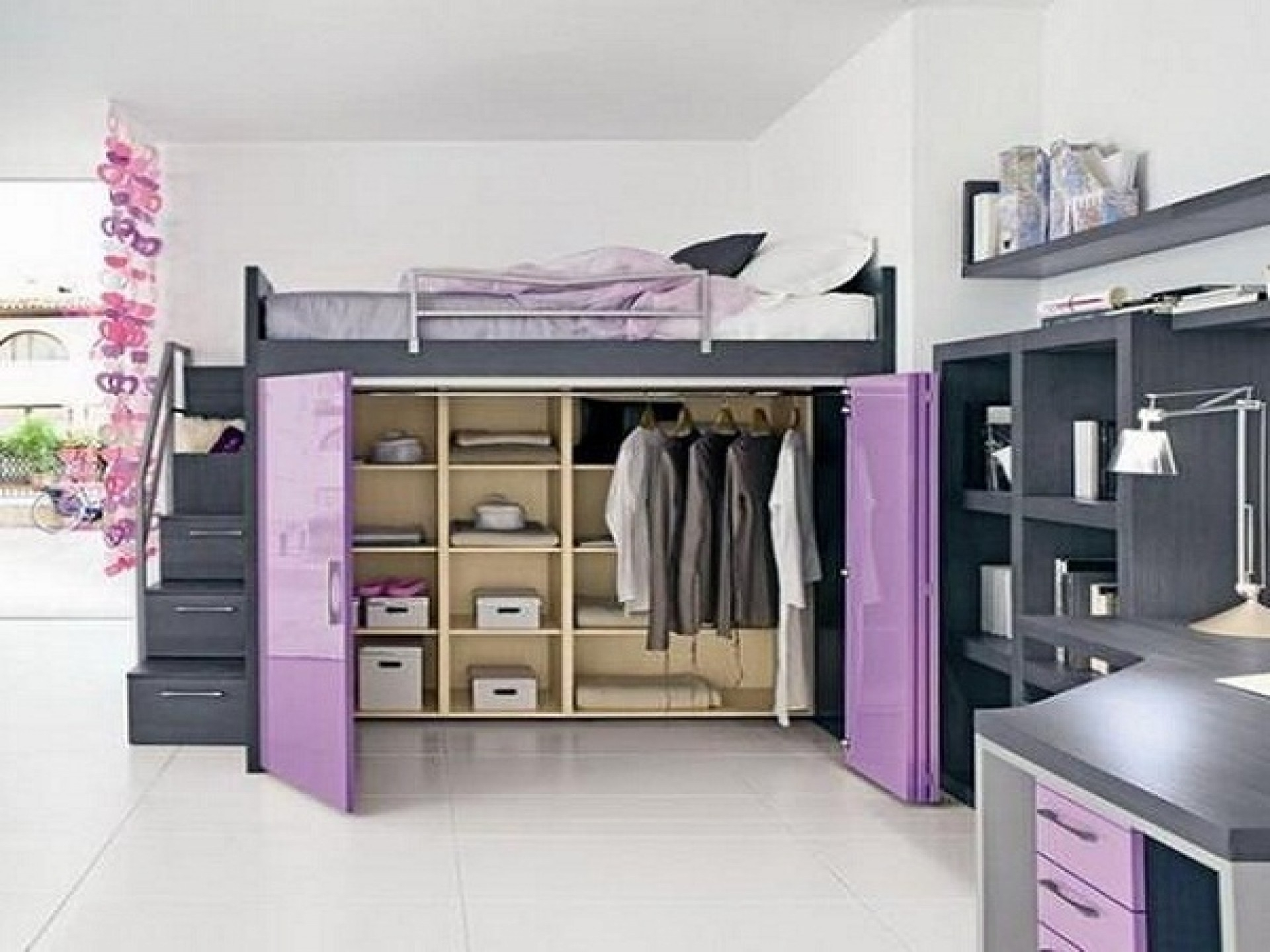 Loft Beds With Storage Underneath Ideas On Foter