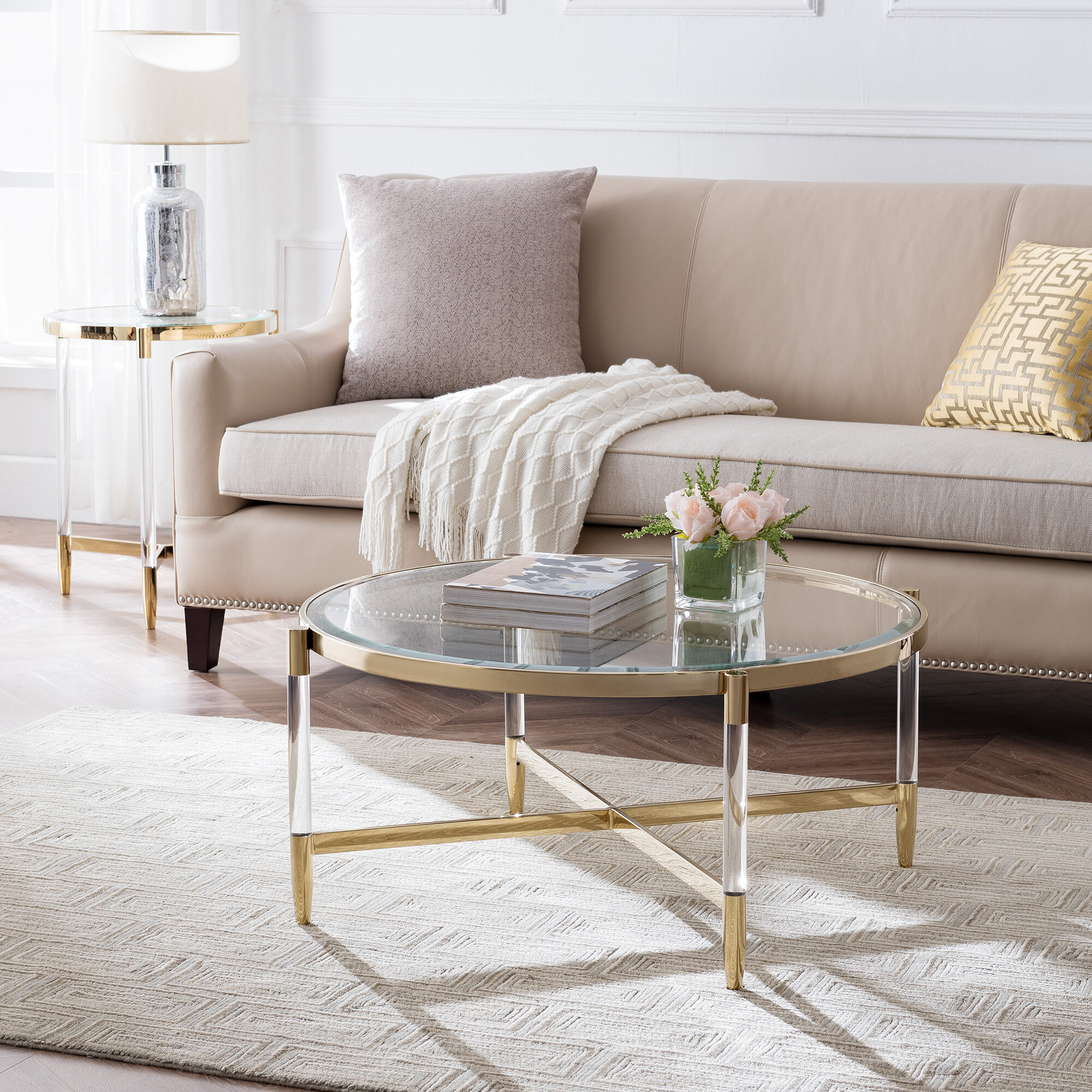 Lucite Coffee Table Ideas On Foter