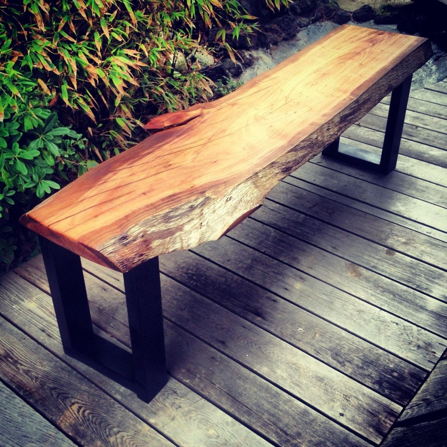 Picture of: Metal Outdoor Benches Ideas On Foter