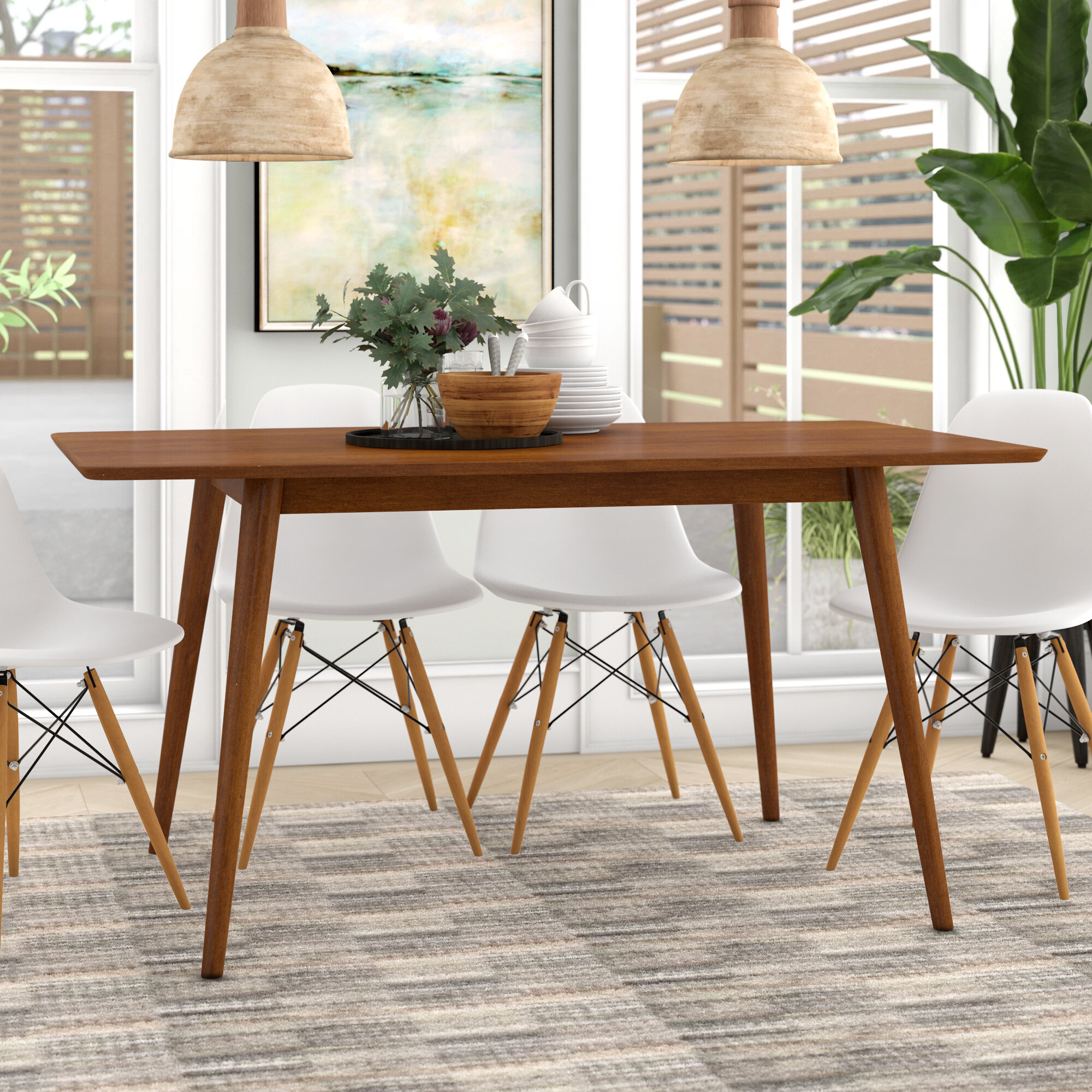 Picture of: Mid Century Modern Dining Tables Ideas On Foter