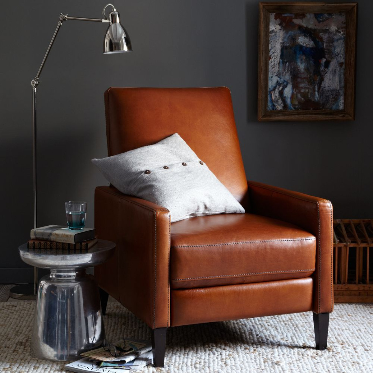 Picture of: Modern Leather Recliners Ideas On Foter