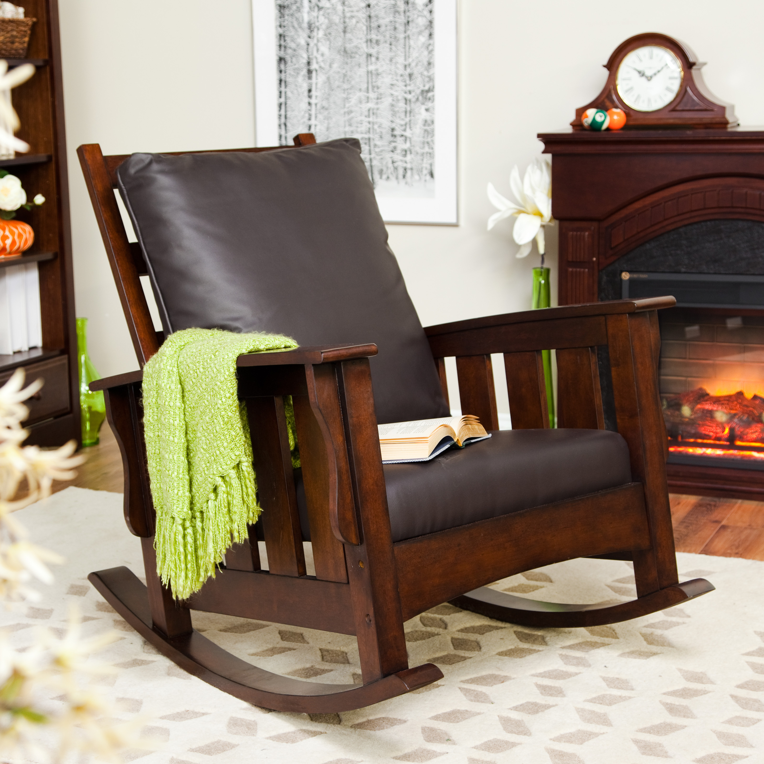 Modern Leather Rocking Chair Ideas On Foter
