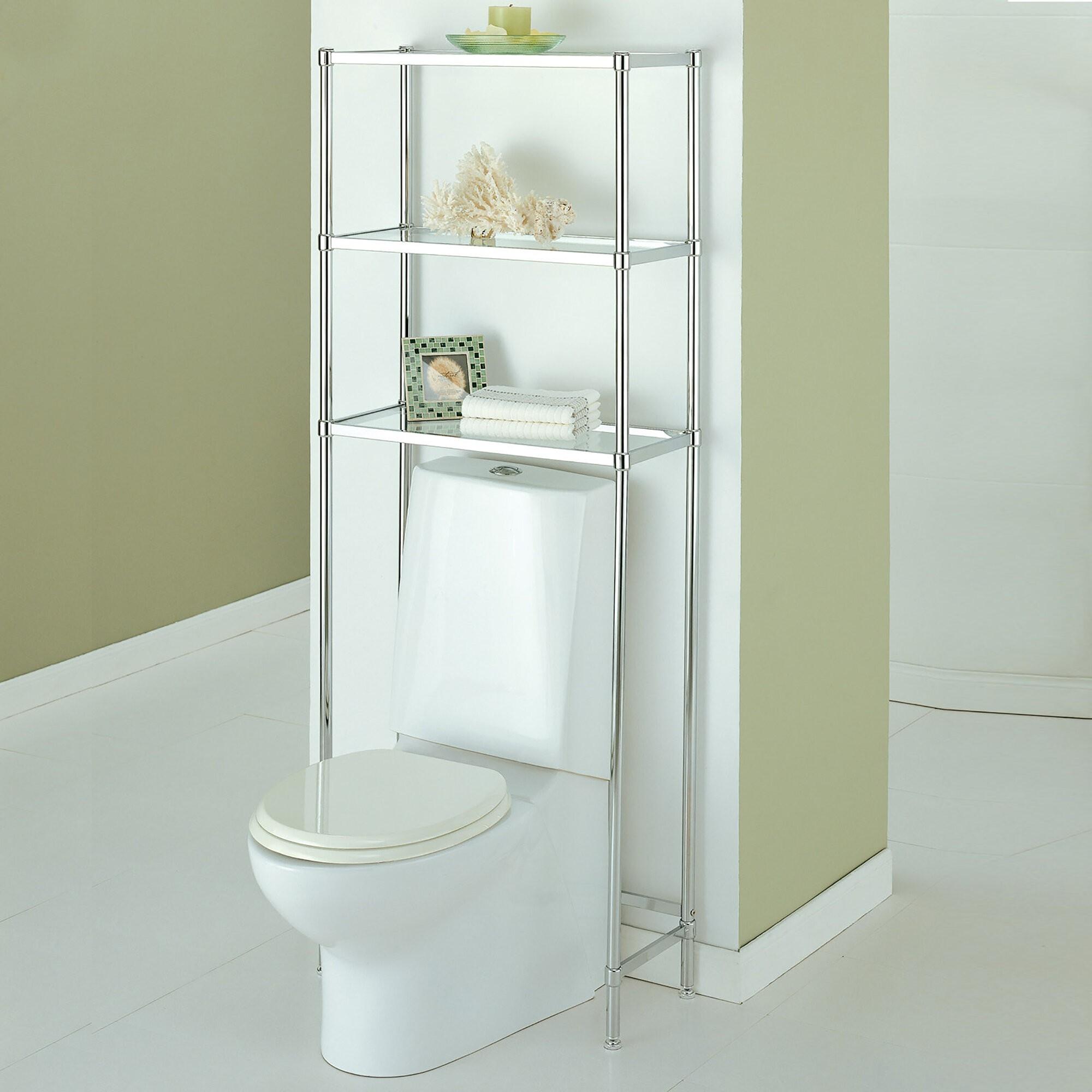 Modern Over The Toilet Storage Ideas