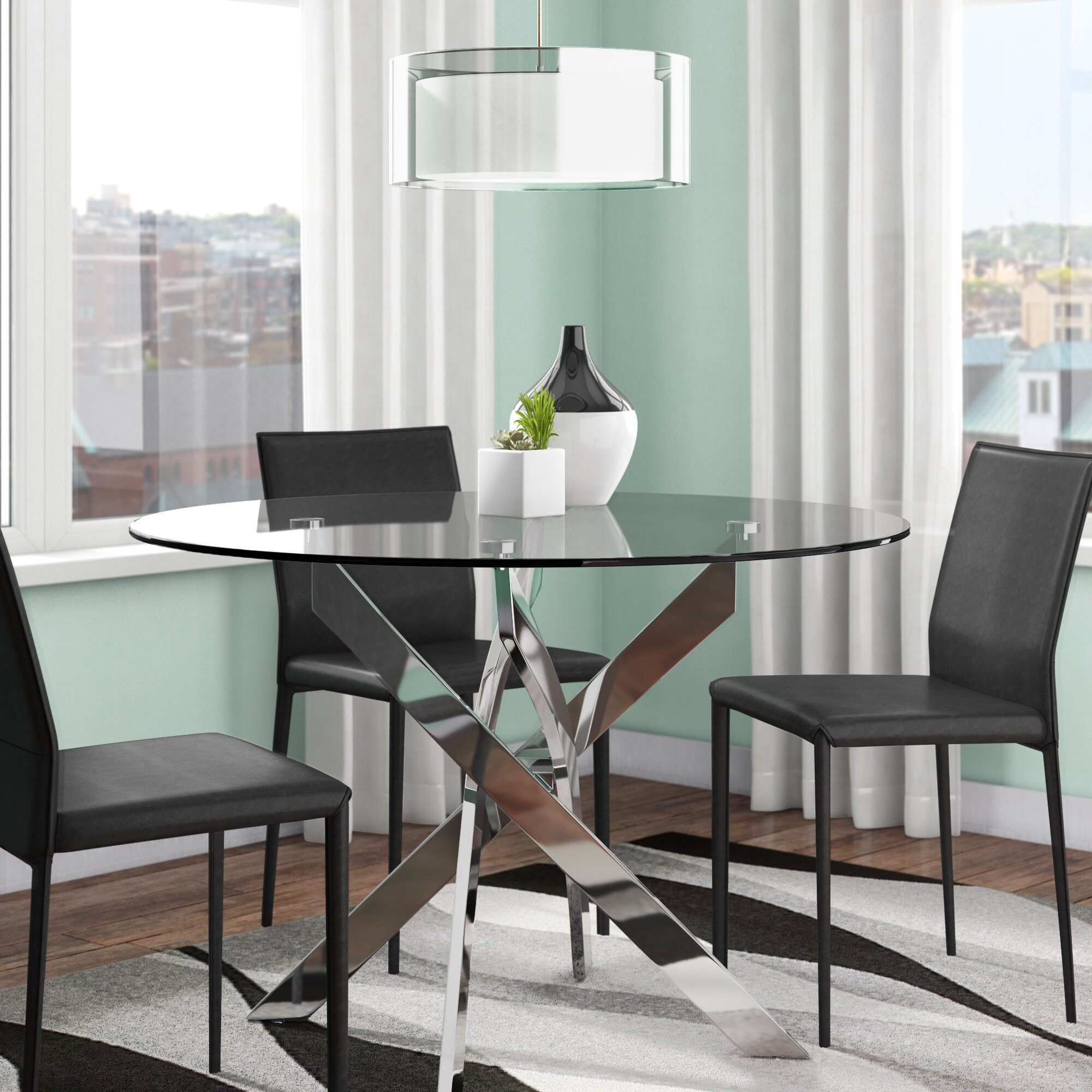 Modern Round Dining Table Ideas On Foter